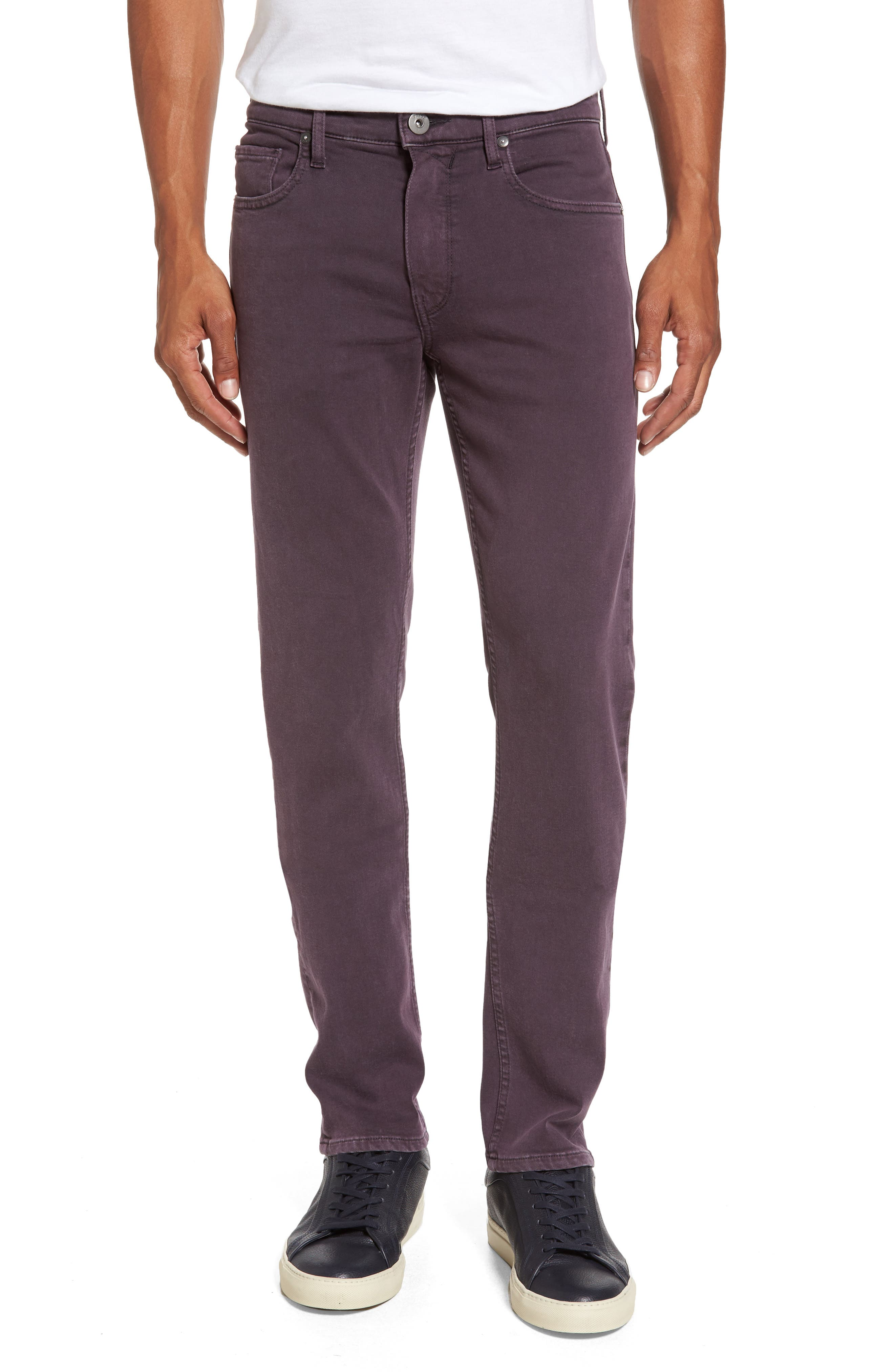 PAIGE Transcend - Federal Slim Straight Fit Jeans (Vintage Port)