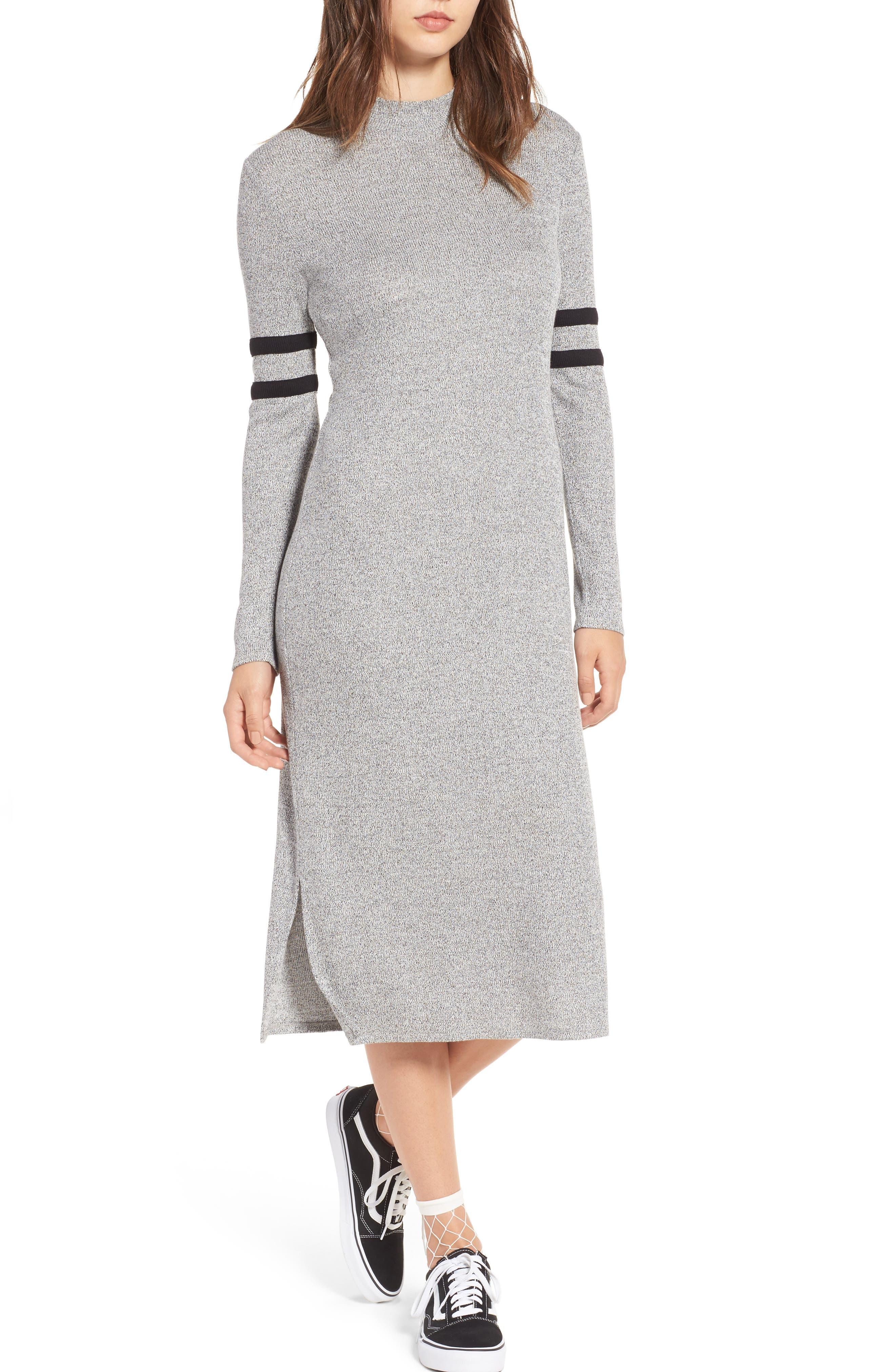 One Clothing Stripe Midi Dress