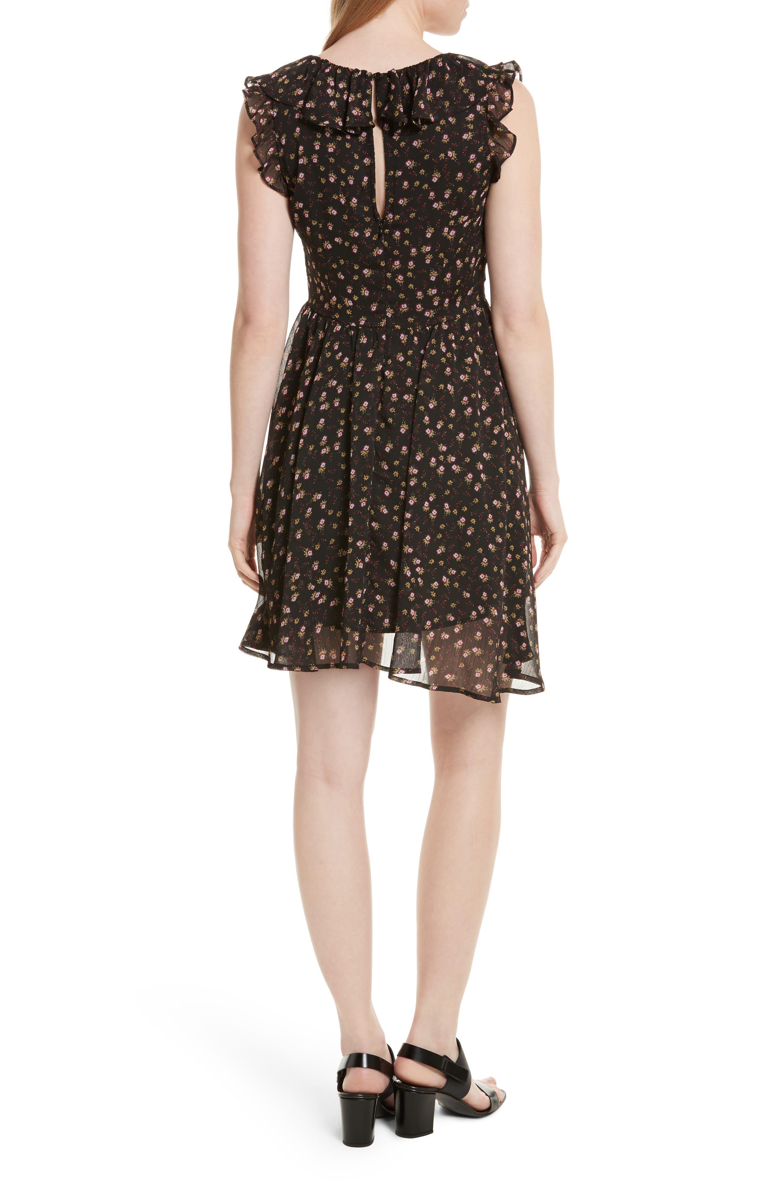 Alternate Image 2  - Rebecca Minkoff Brista Fit & Flare Dress