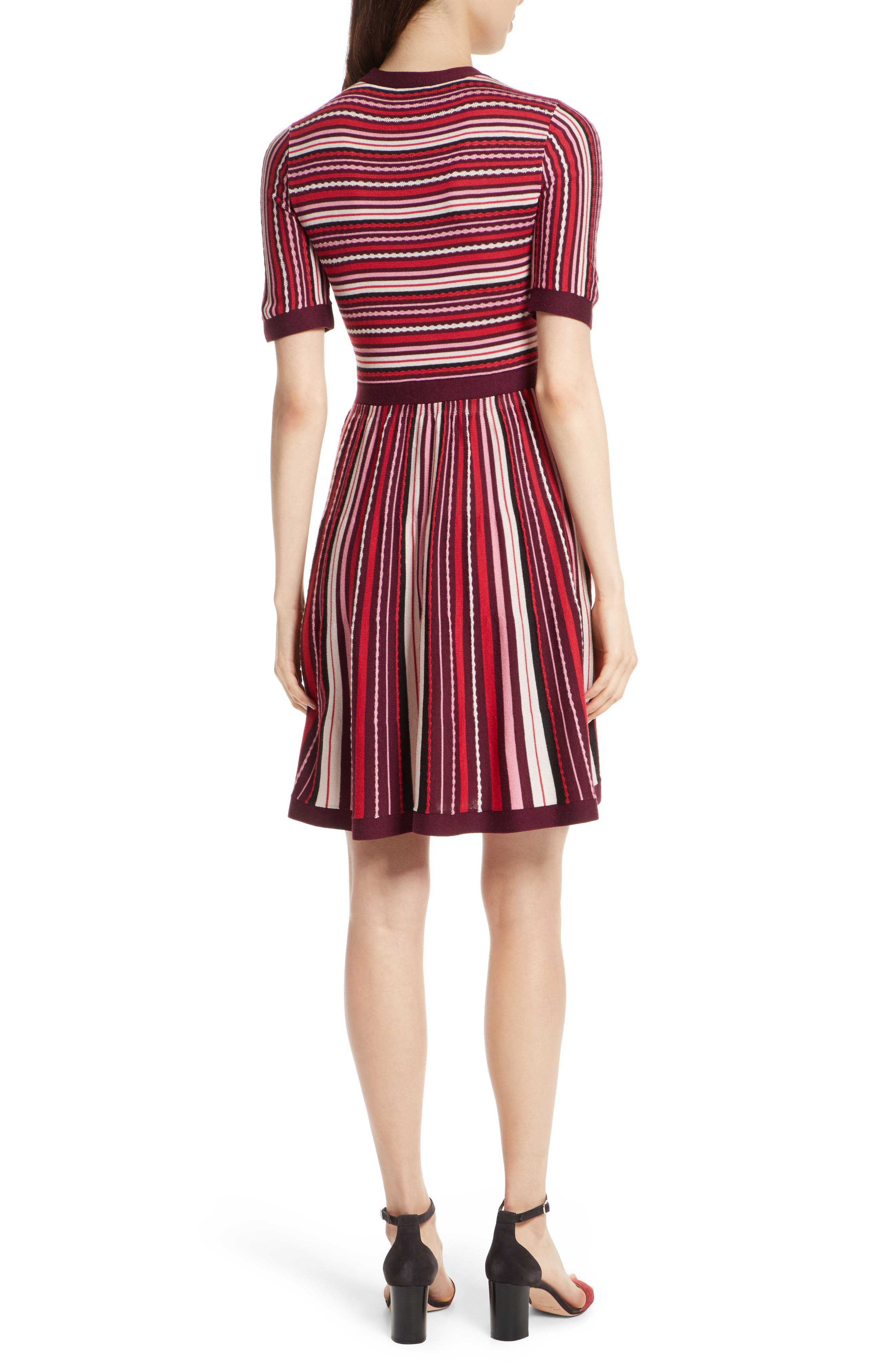 Alternate Image 2  - kate spade new york stripe sweater dress