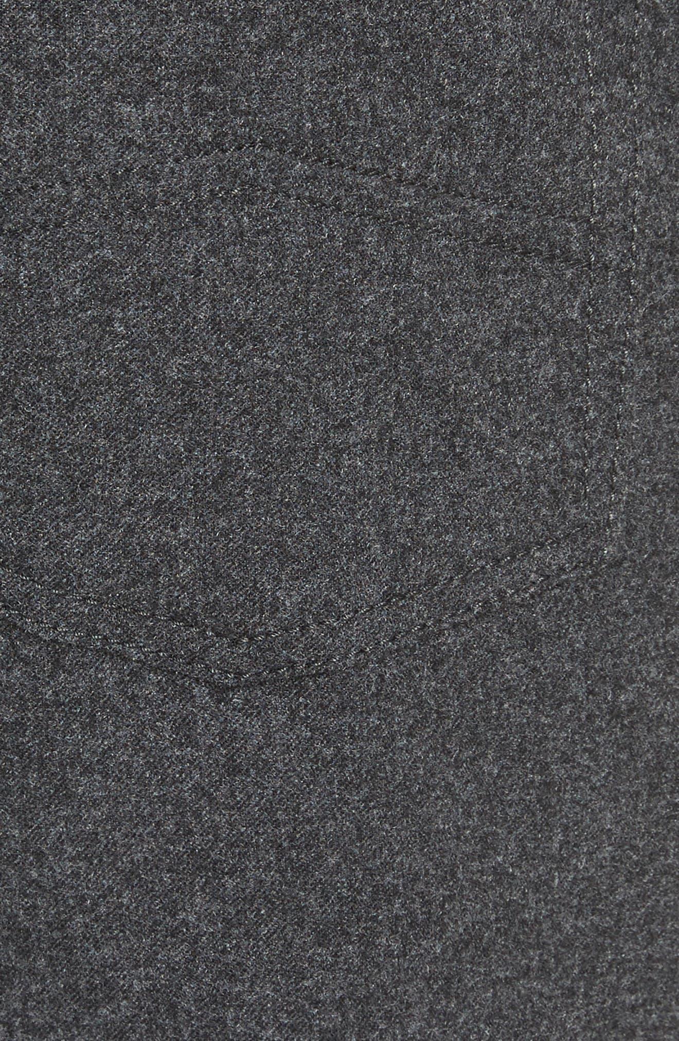 Alternate Image 5  - Armani Collezioni Flannel Sport Pants