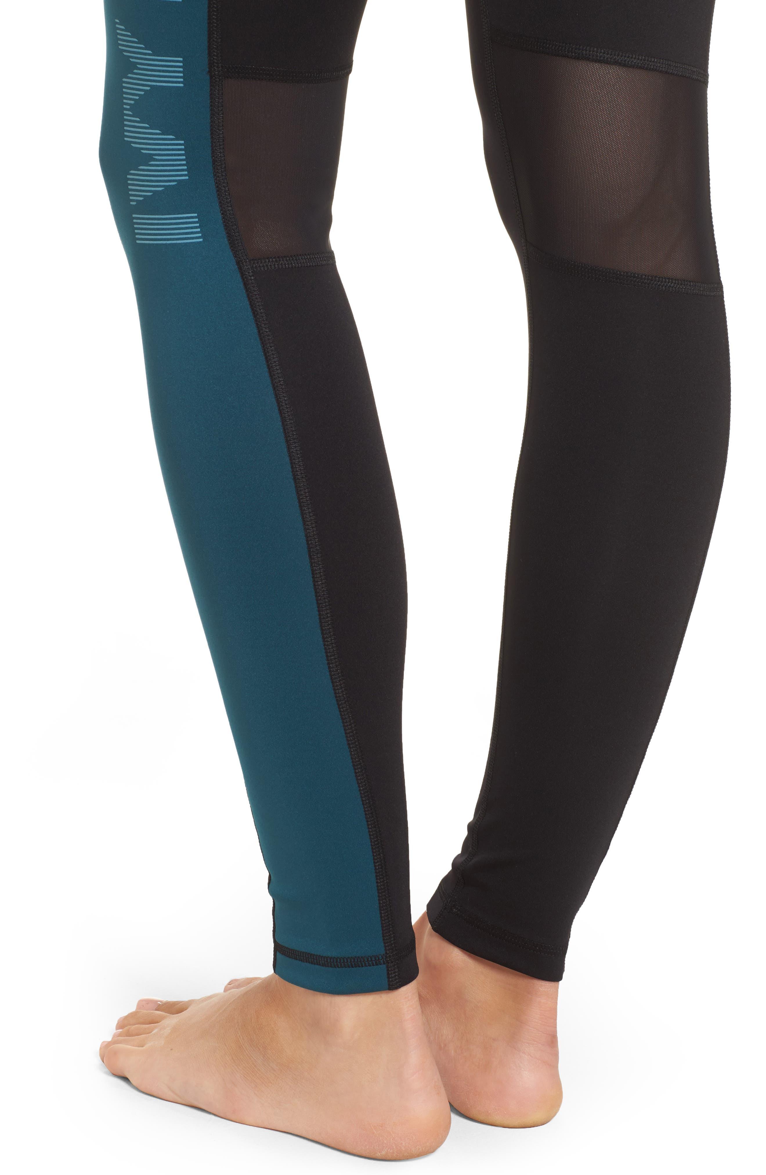 Alternate Image 4  - IVY PARK® Logo Block Mid Rise Ankle Leggings
