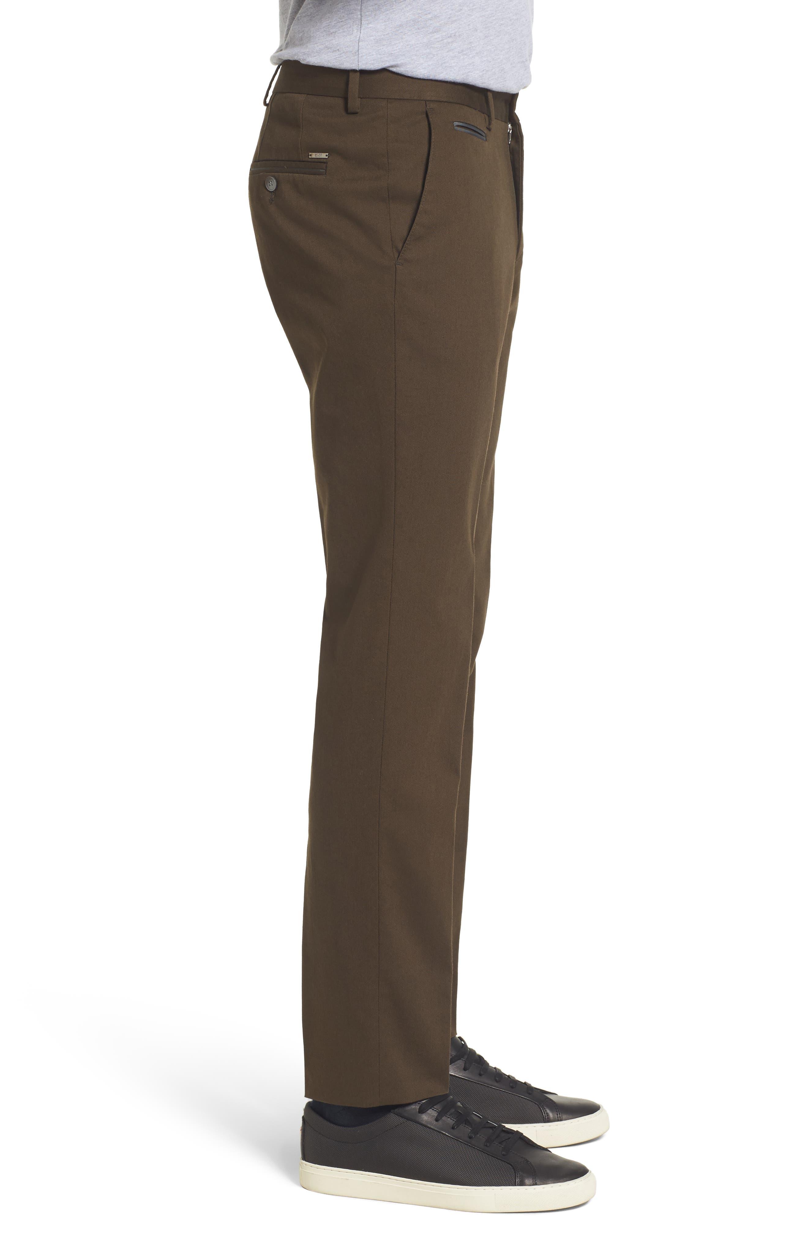 Batho-W Regular Fit Trousers,                             Alternate thumbnail 3, color,                             Open Green