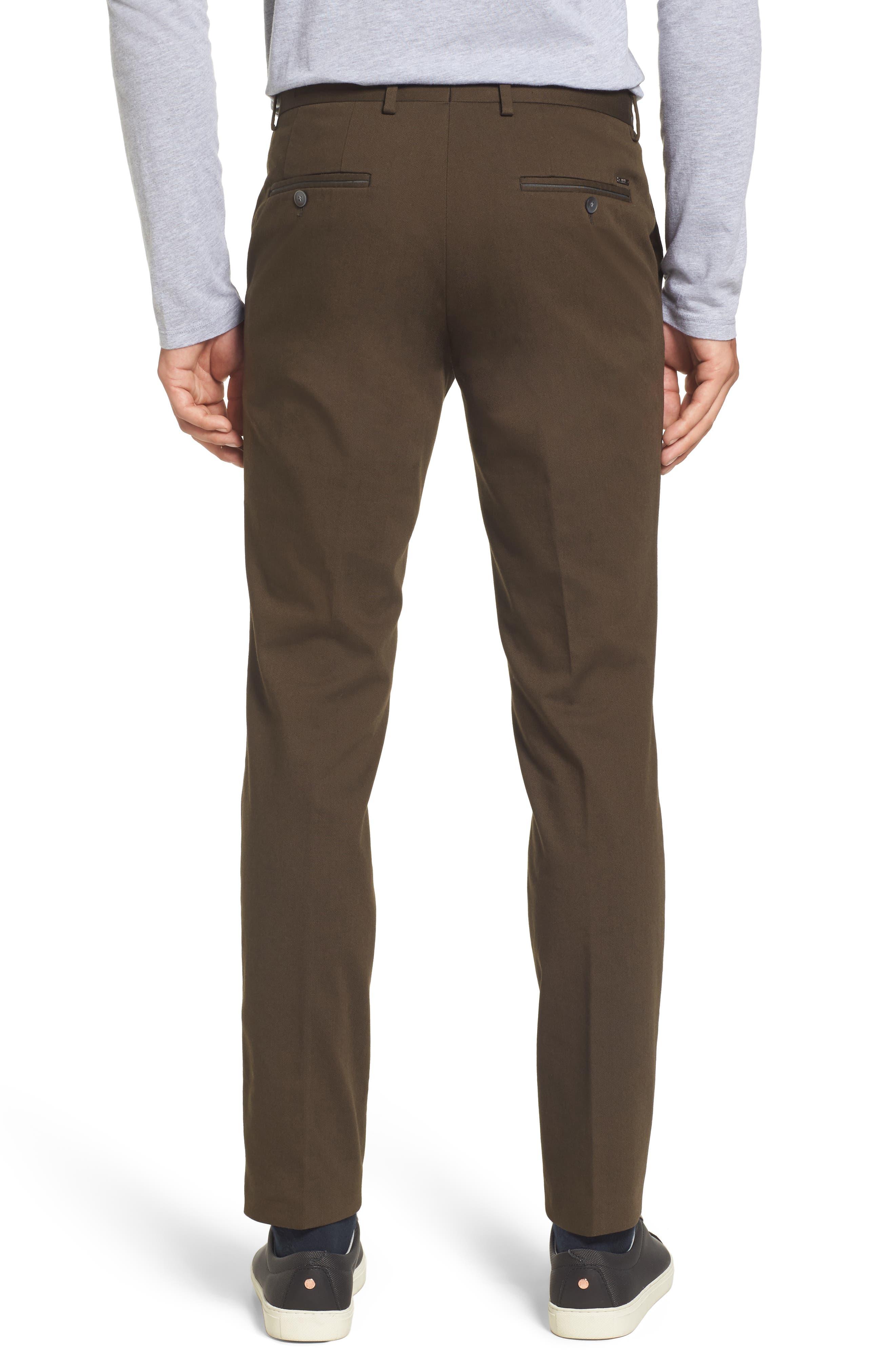 Batho-W Regular Fit Trousers,                             Alternate thumbnail 2, color,                             Open Green