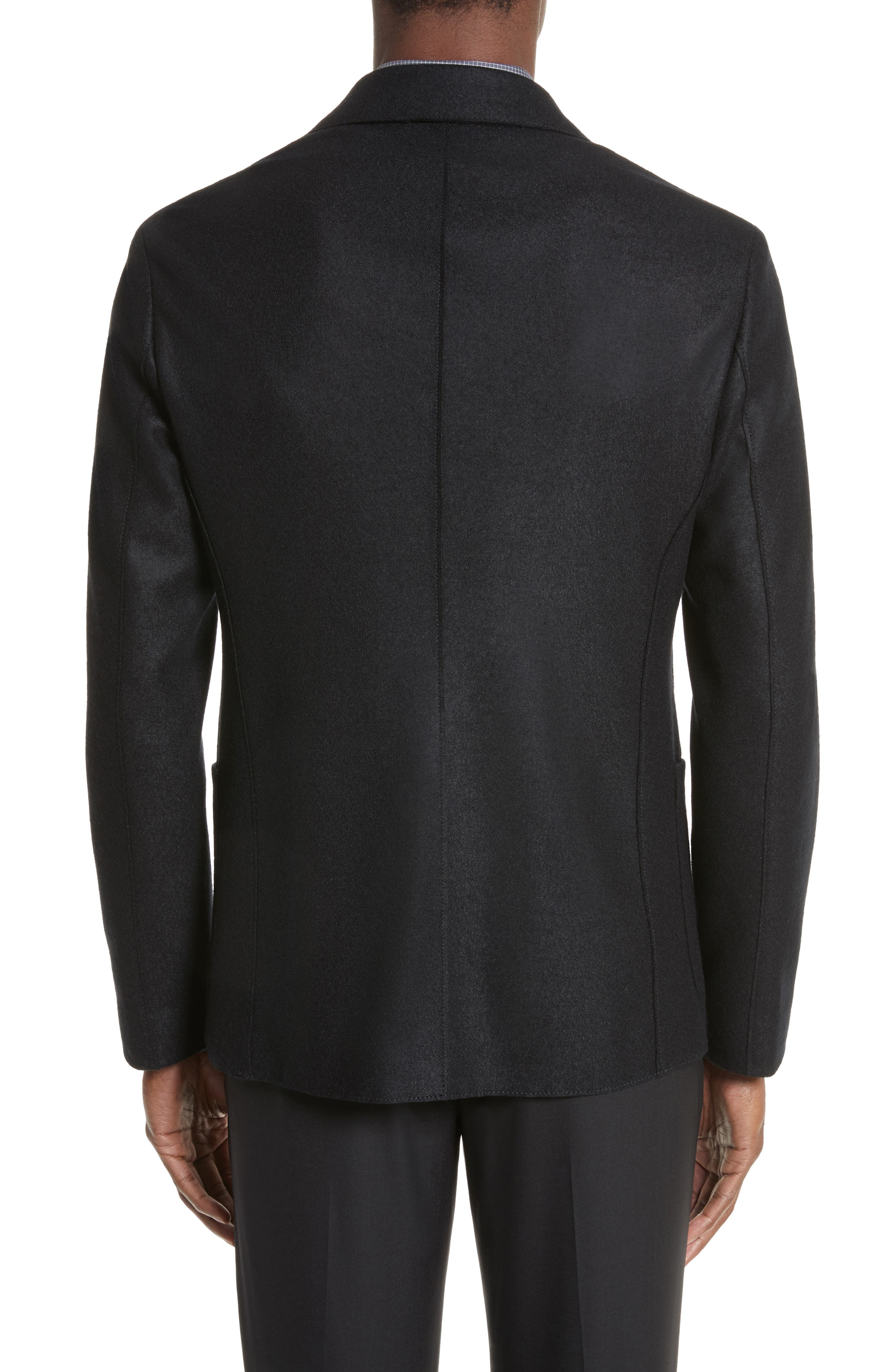 Alternate Image 2  - Armani Collezioni Regular Fit Jersey Sport Coat