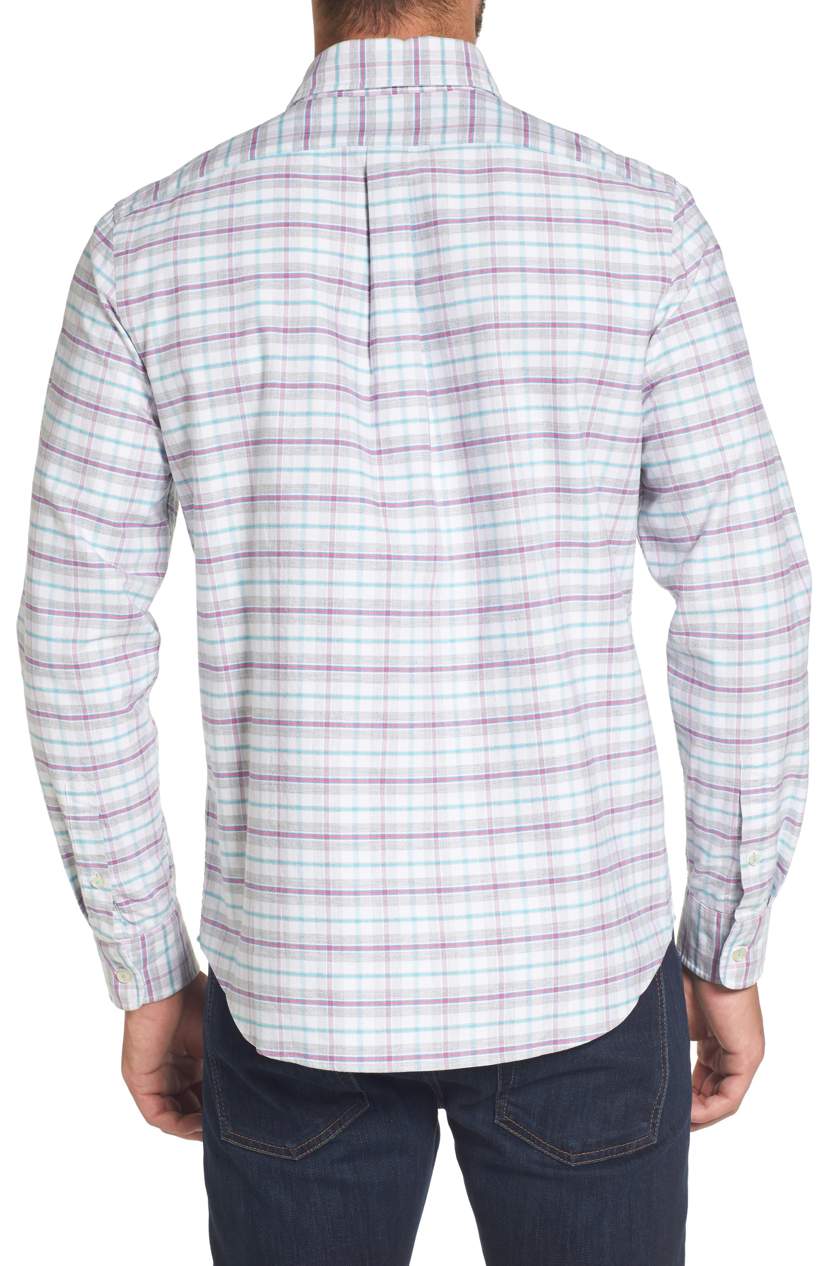 Alternate Image 2  - vineyard vines Lockwood Slim Fit Check Sport Shirt