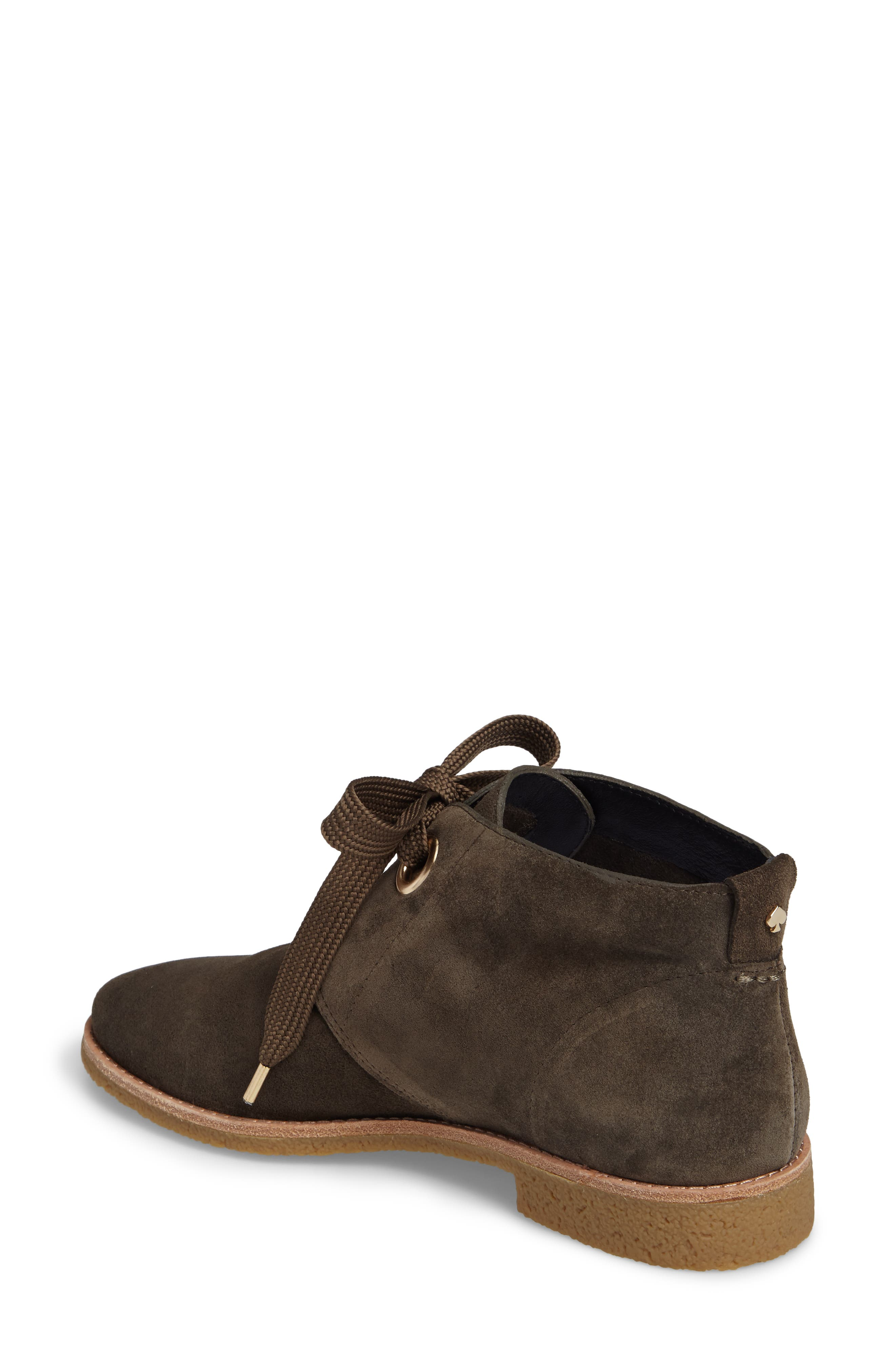 barrow chukka boot,                             Alternate thumbnail 2, color,                             Olive Green Suede