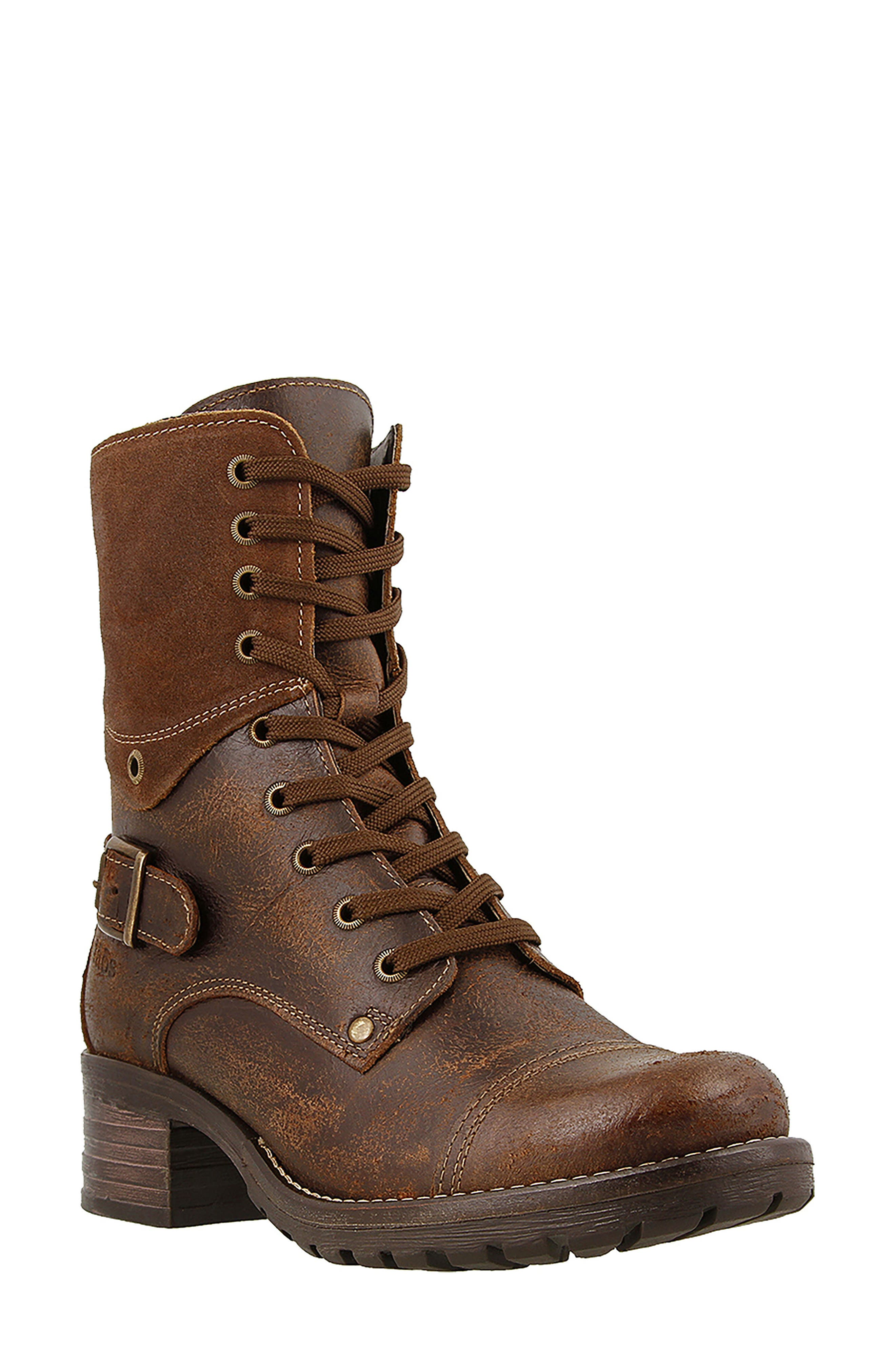 Crave Boot,                         Main,                         color, Brown Leather