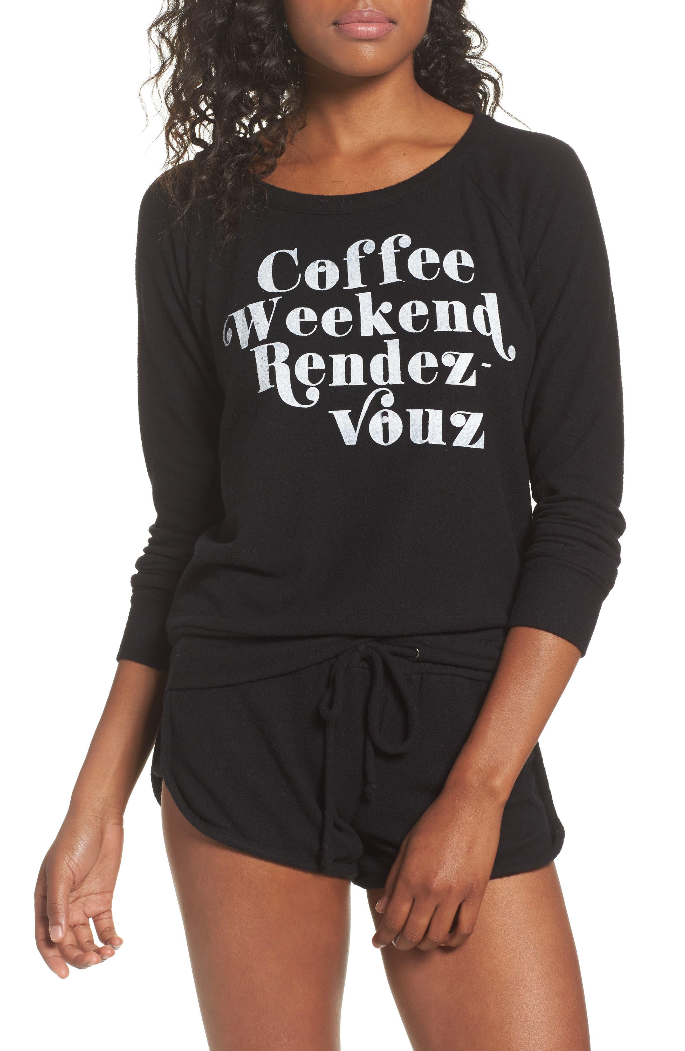 Main Image - Chaser Coffee Weekend Rendezvous Pullover