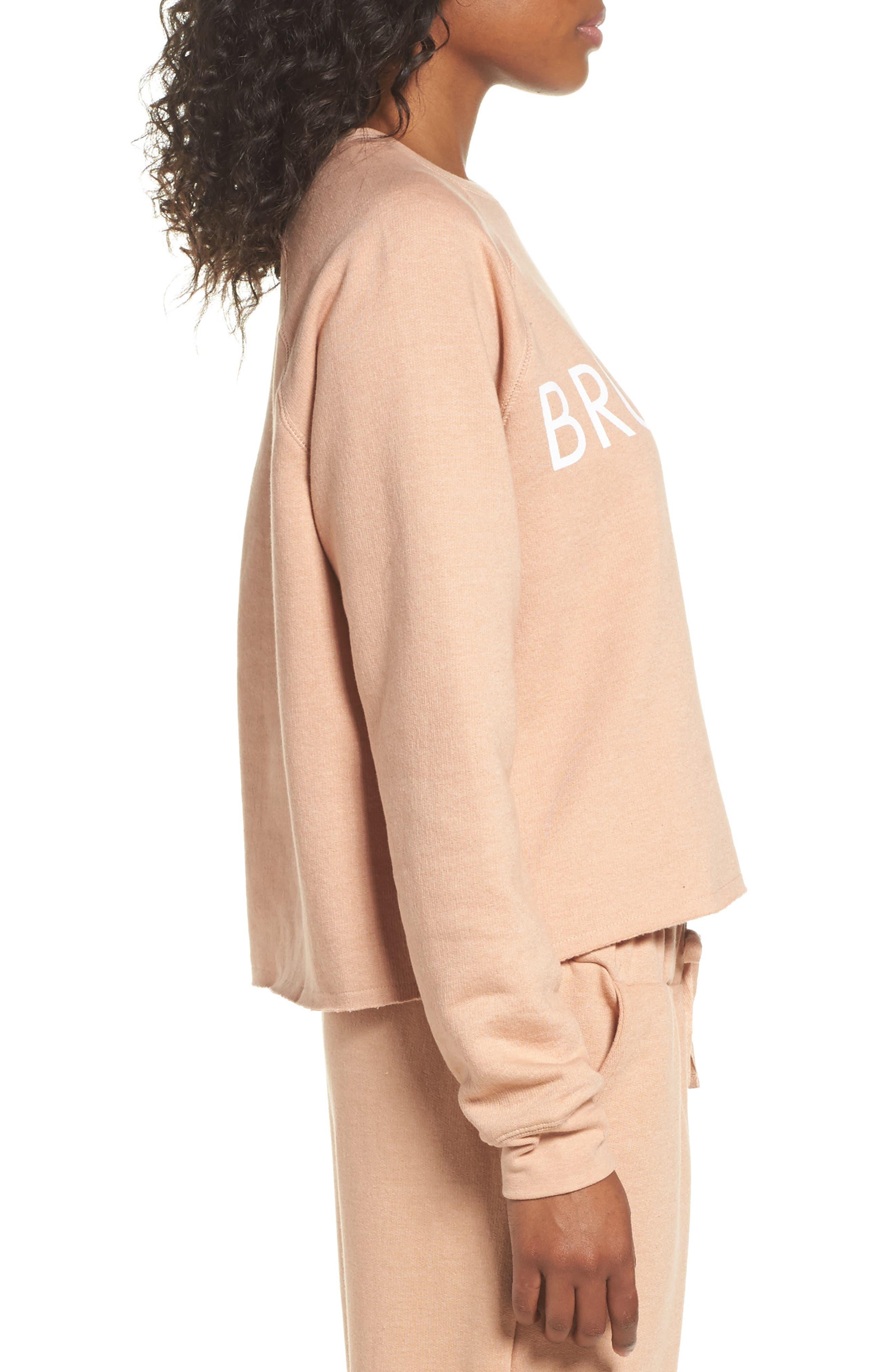 Alternate Image 3  - BRUNETTE the Label Middle Sister Brunette Sweatshirt
