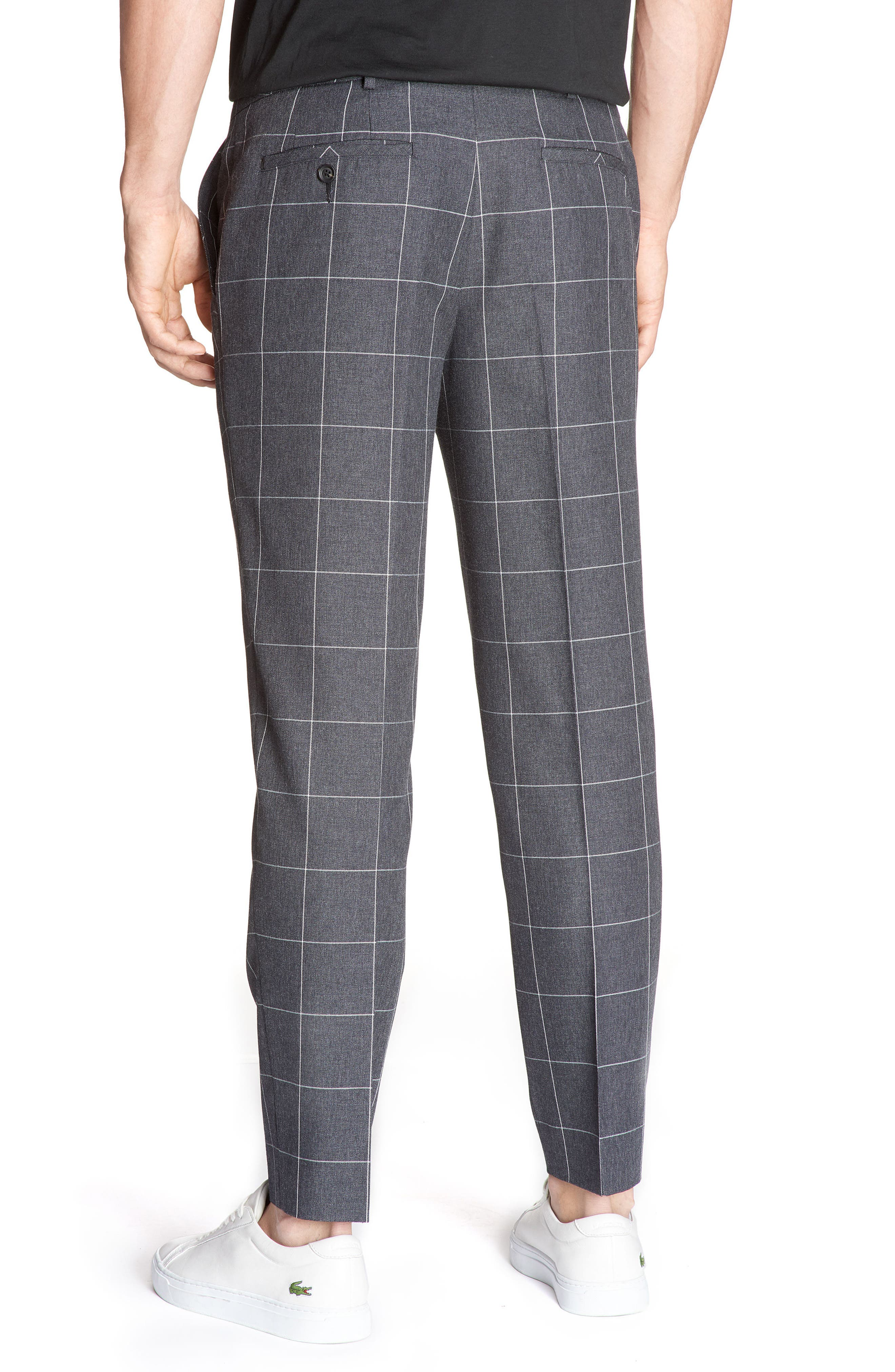 Alternate Image 2  - Lacoste Check Flannel Pants