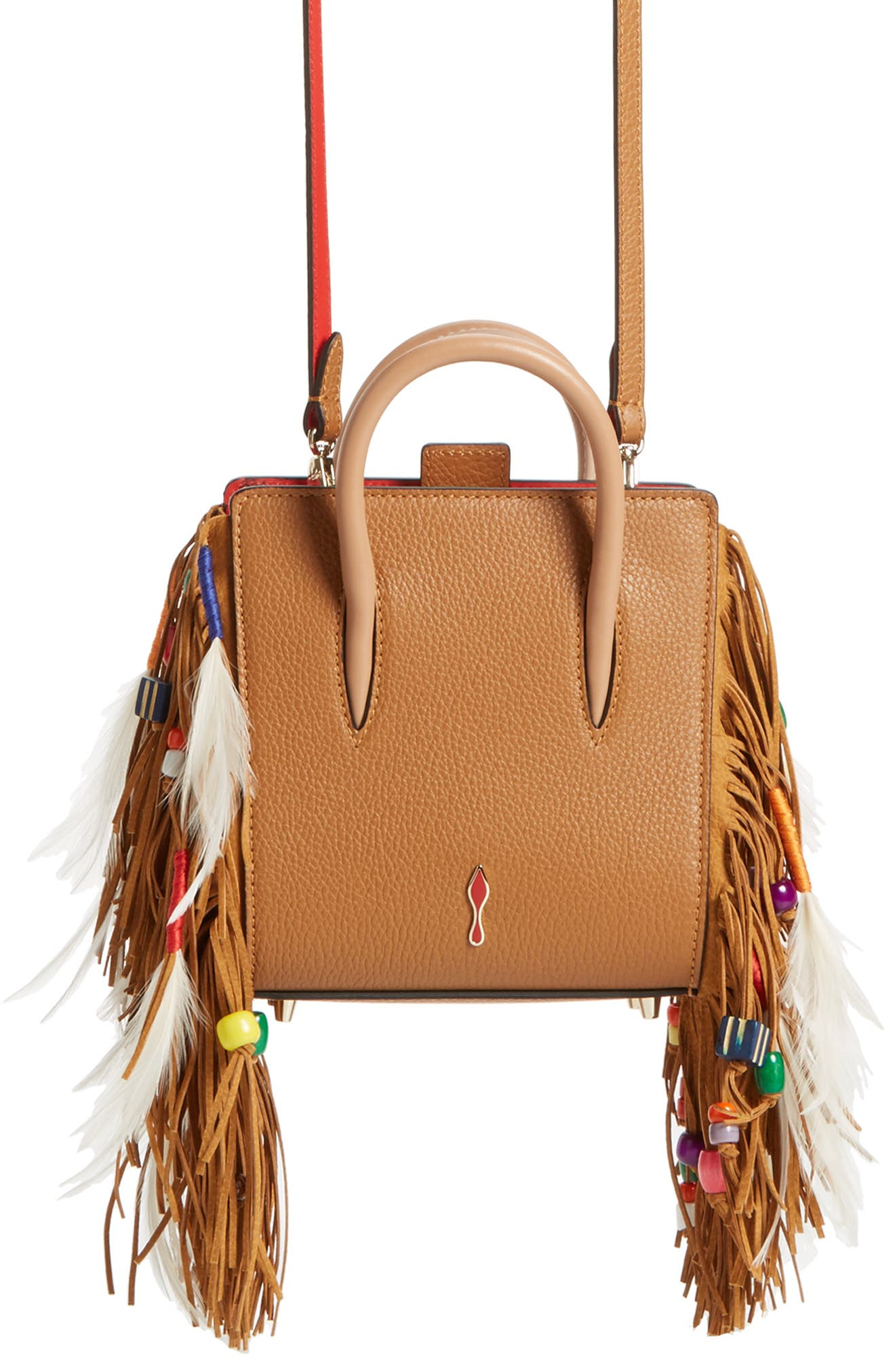 Alternate Image 1 Selected - Christian Louboutin Paloma Nano Calfskin Tote