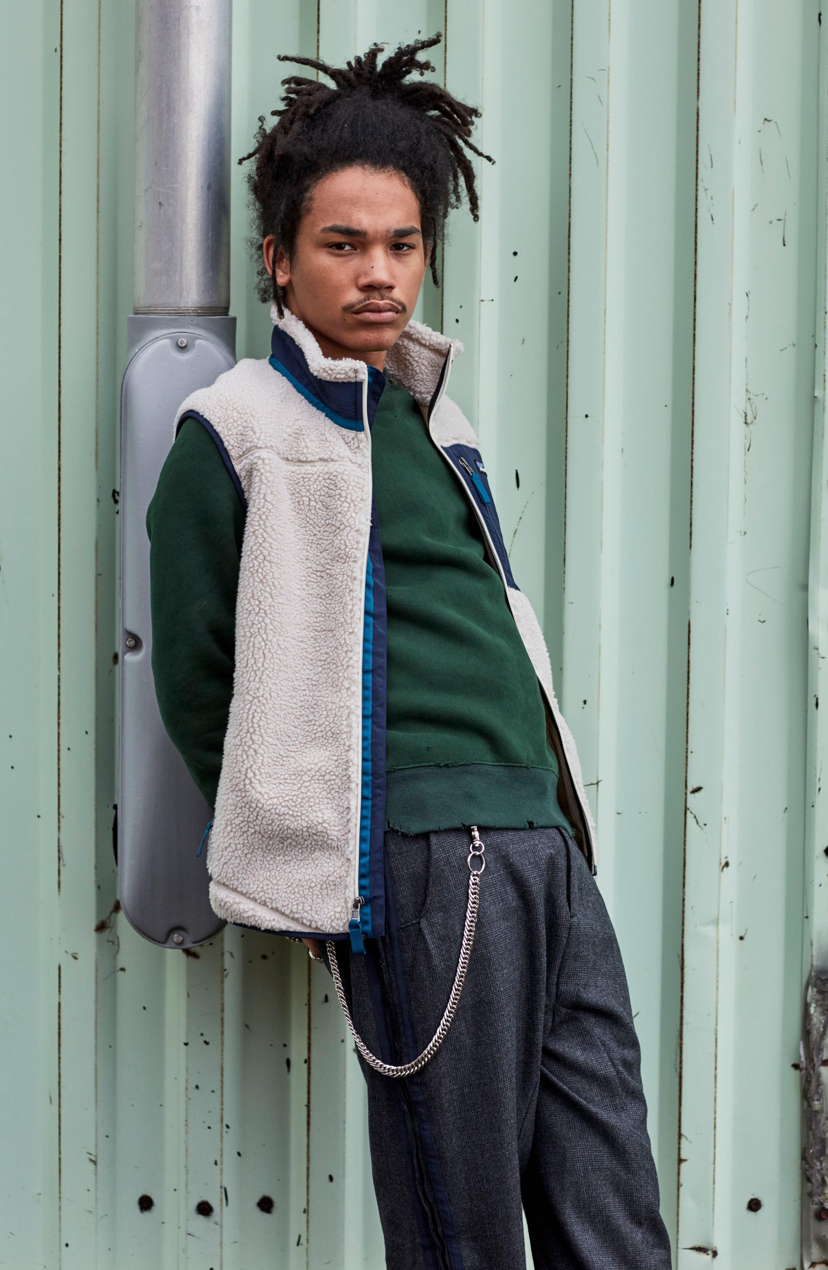 Alternate Image 8  - OVADIA & SONS Crewneck Sweater