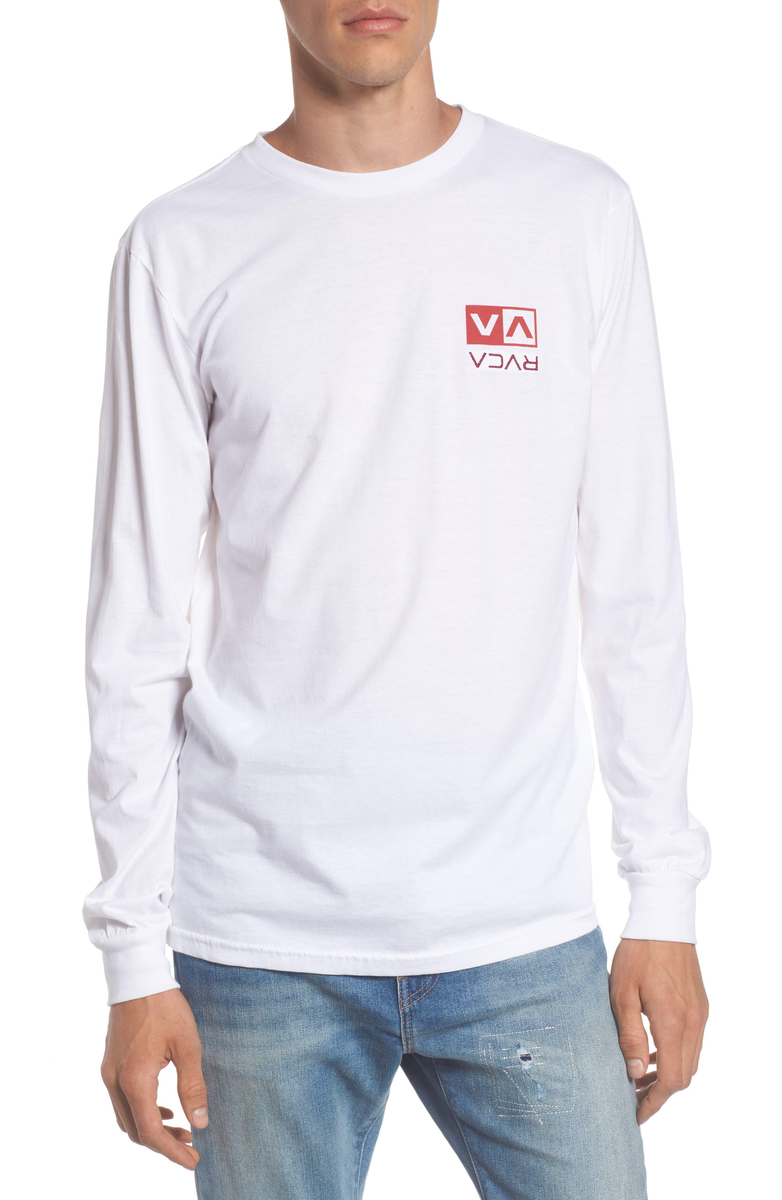 Flipped Box Graphic T-Shirt,                             Main thumbnail 1, color,                             White