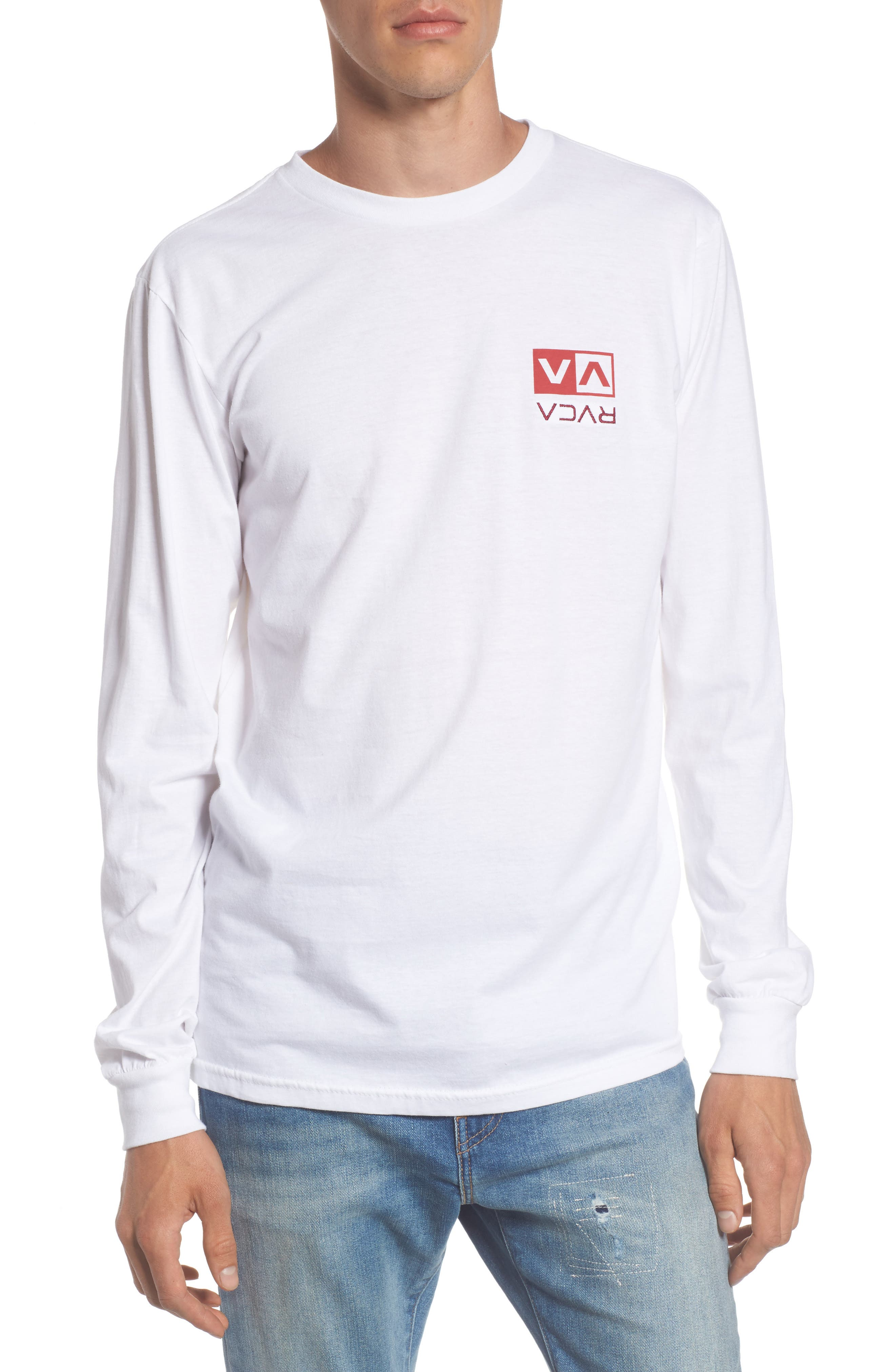 Flipped Box Graphic T-Shirt,                         Main,                         color, White
