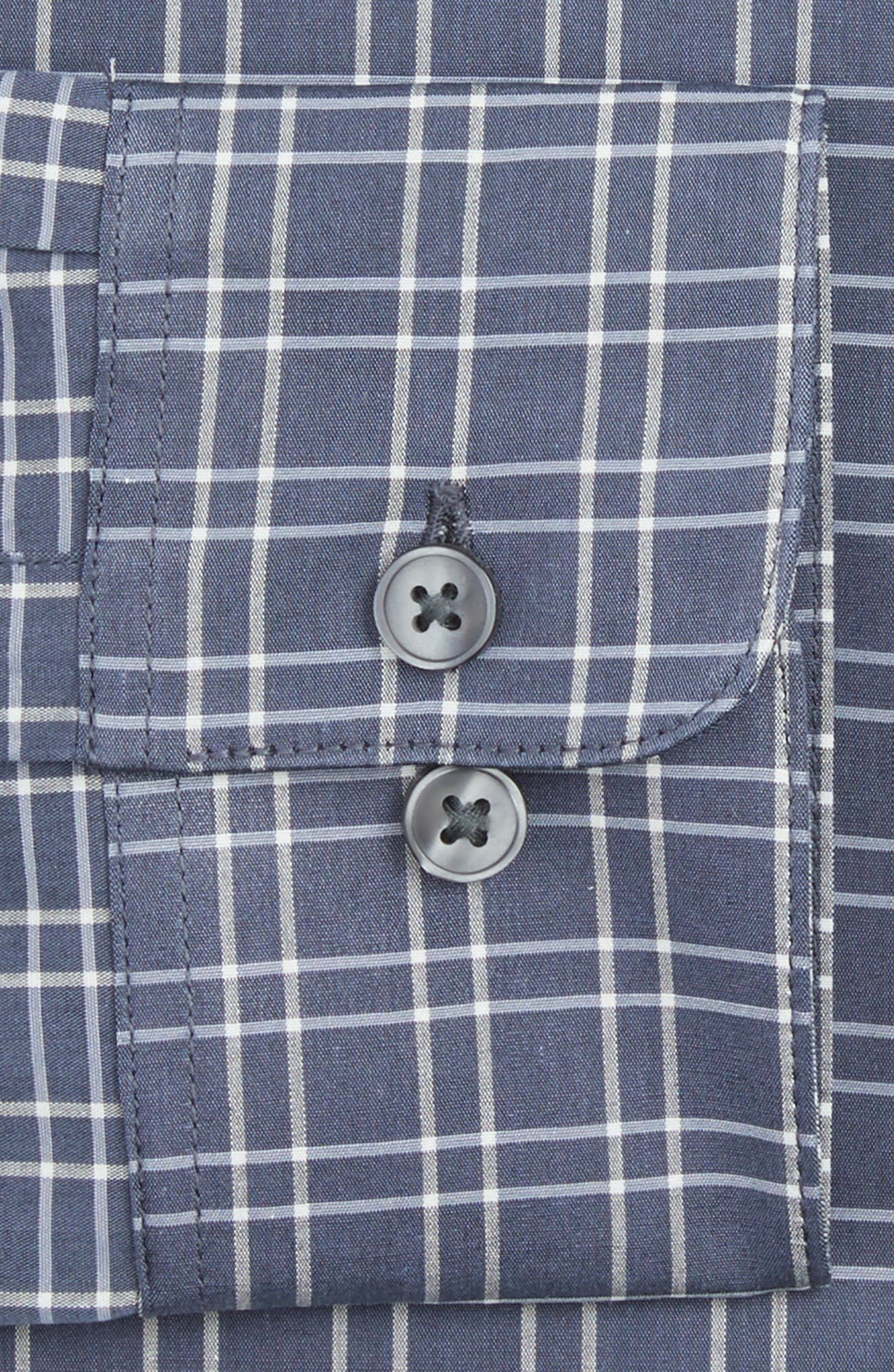Alternate Image 2  - John Varvatos Star USA Slim Fit Stretch Plaid Dress Shirt