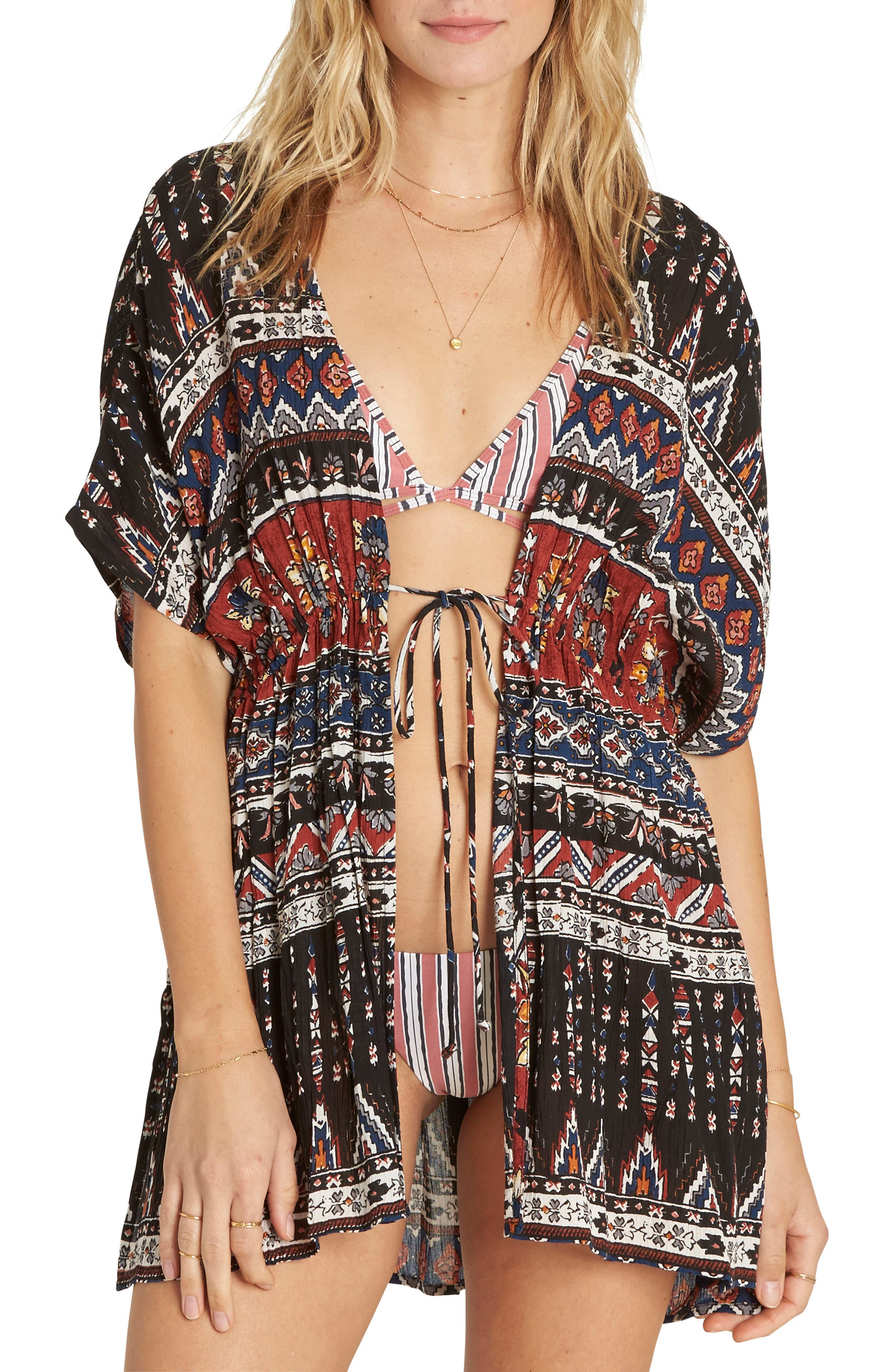 Billabong Sun Shift Print Cover-Up
