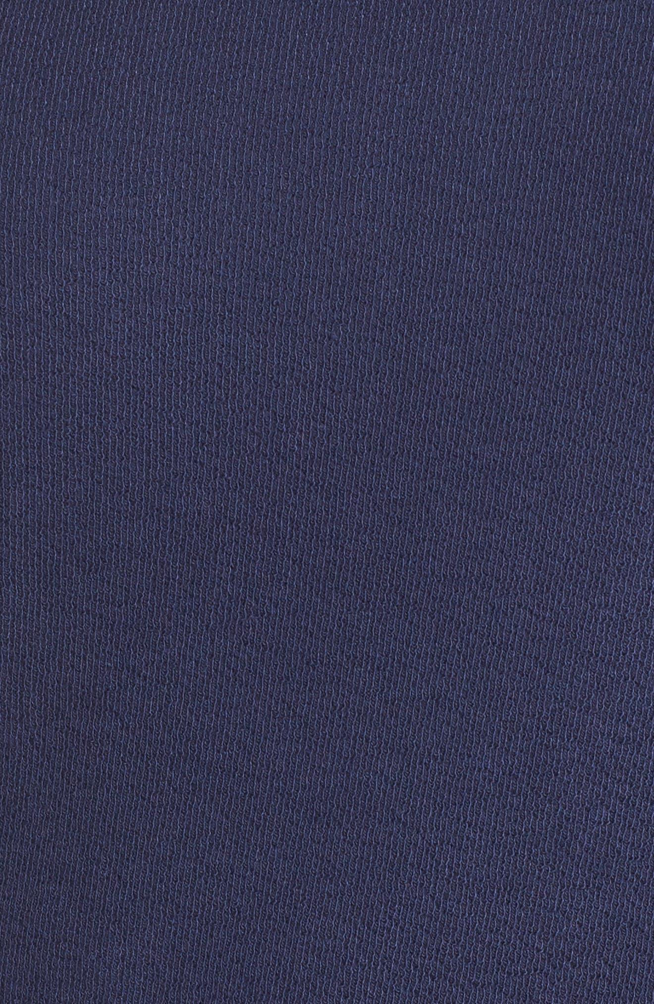 Alternate Image 5  - Caslon Lace Trim Sweatshirt (Plus Size)