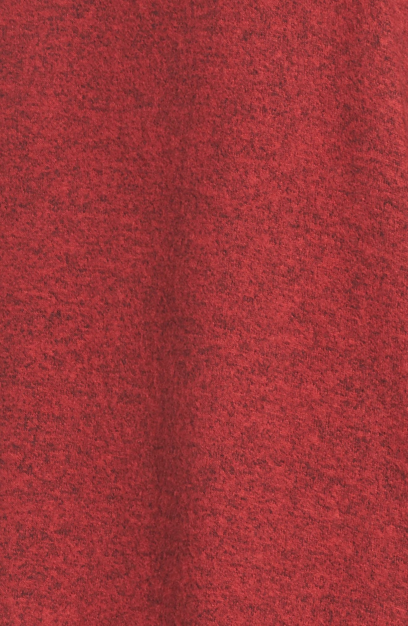 Hoodie,                             Alternate thumbnail 5, color,                             Red Samba Pattern
