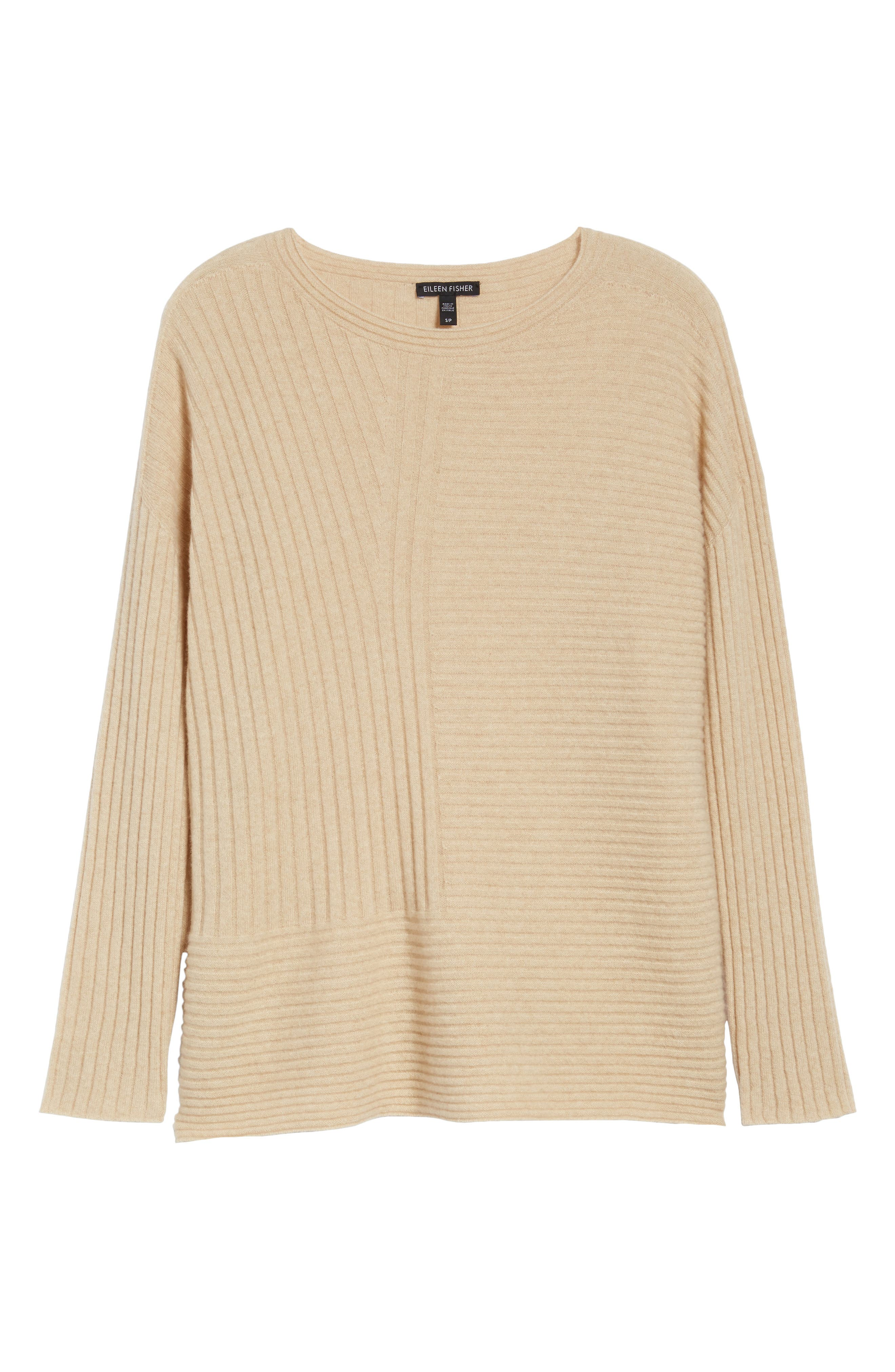 Alternate Image 6  - Eileen Fisher Ribbed Cashmere Sweater