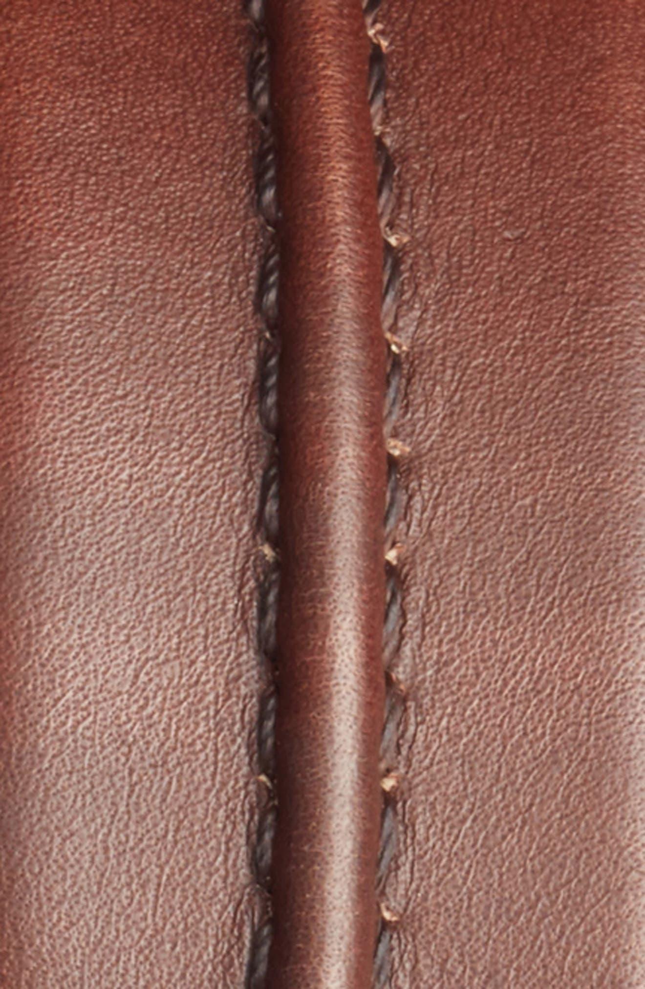 Alternate Image 2  - Mezlan Naxos Leather Belt