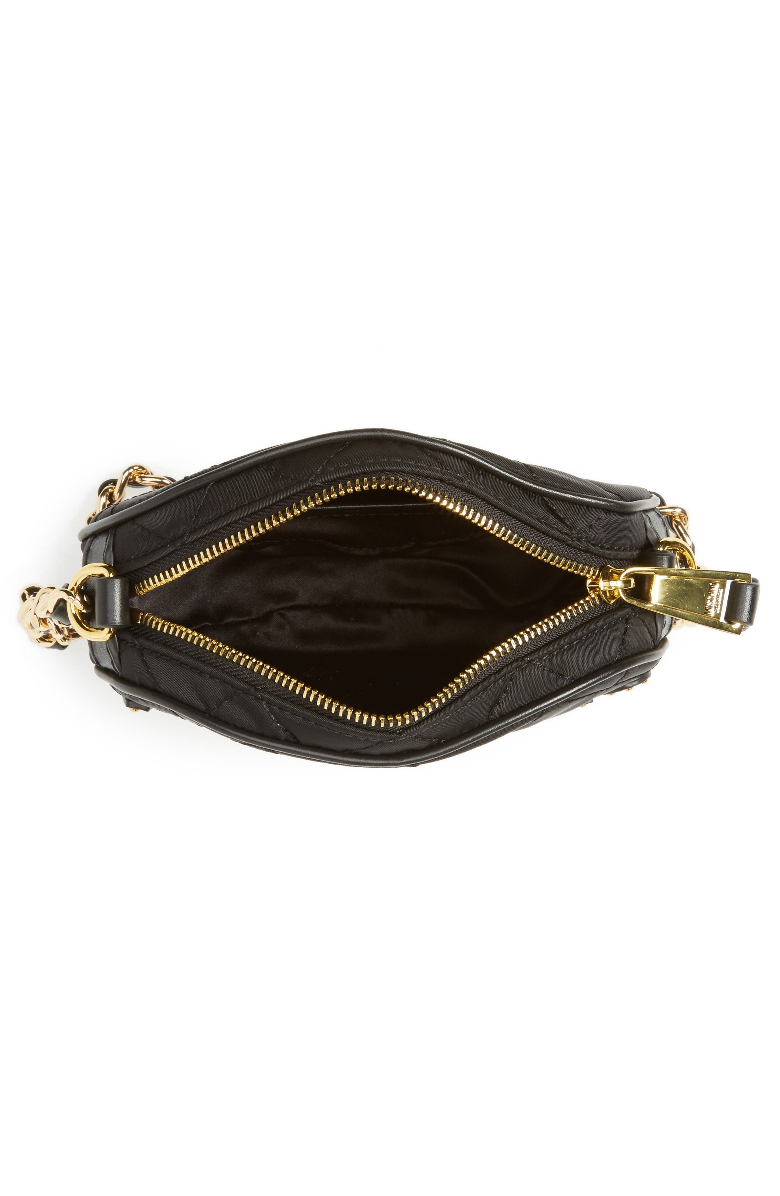 Alternate Image 4  - Moschino Small Quilted Camera Bag