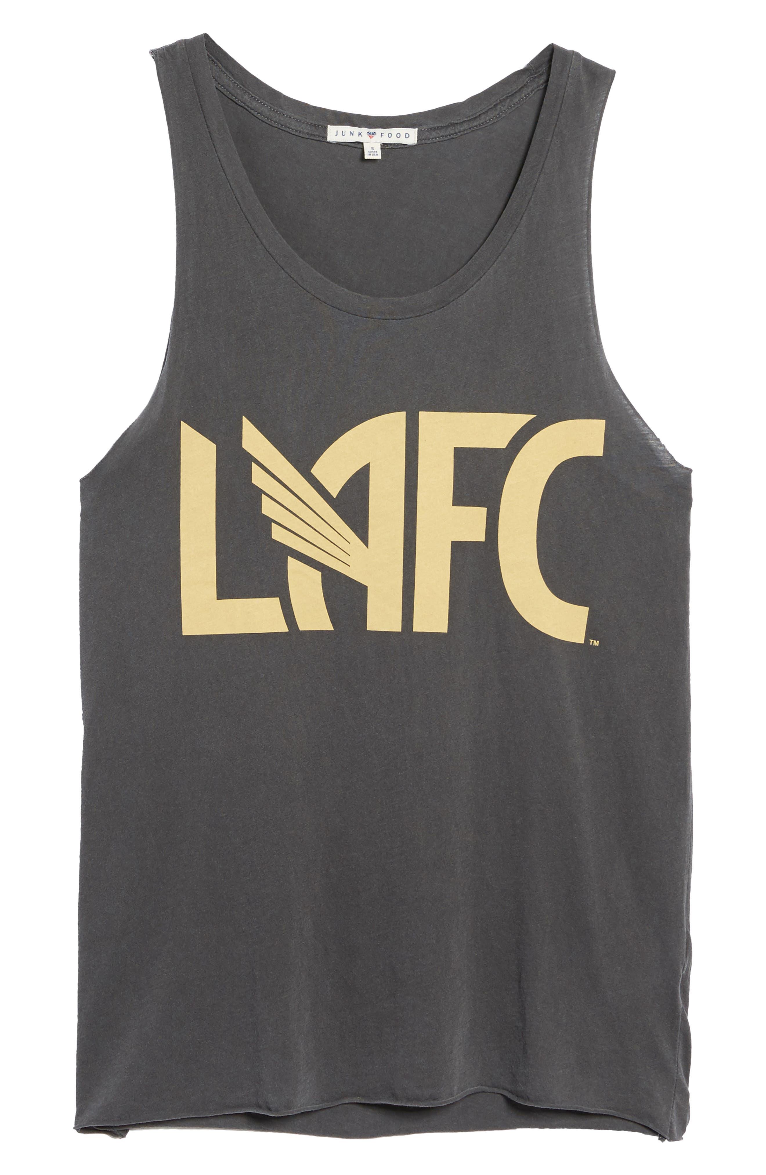 Los Angeles FC Tank,                             Alternate thumbnail 6, color,                             Jet Black