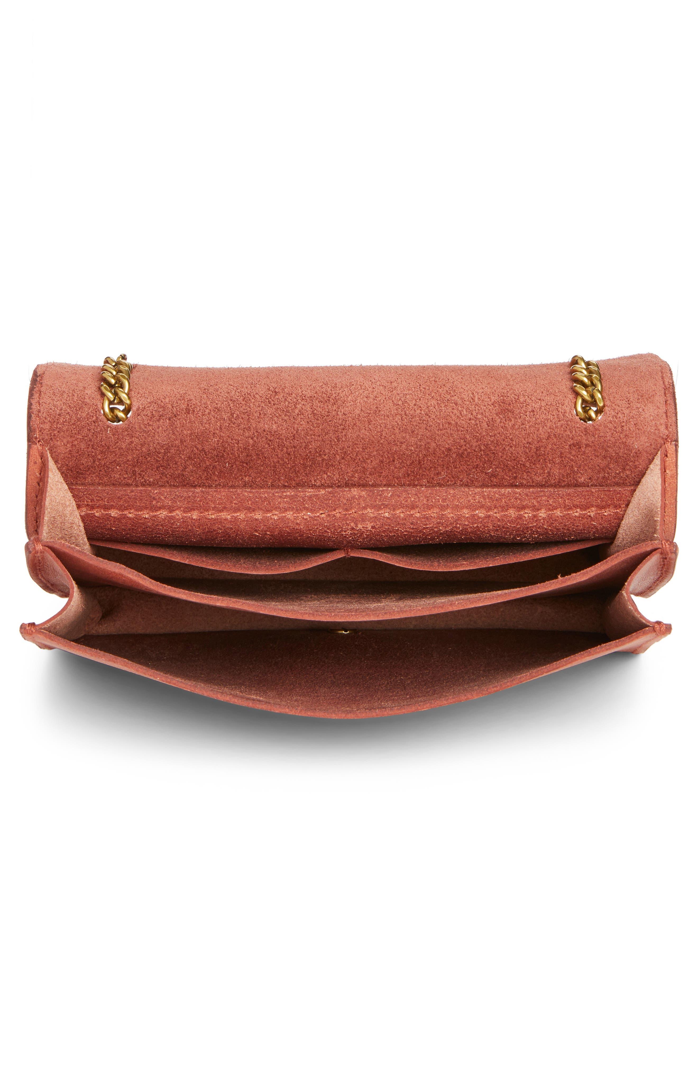Alternate Image 4  - Madewell Leather Crossbody Wallet
