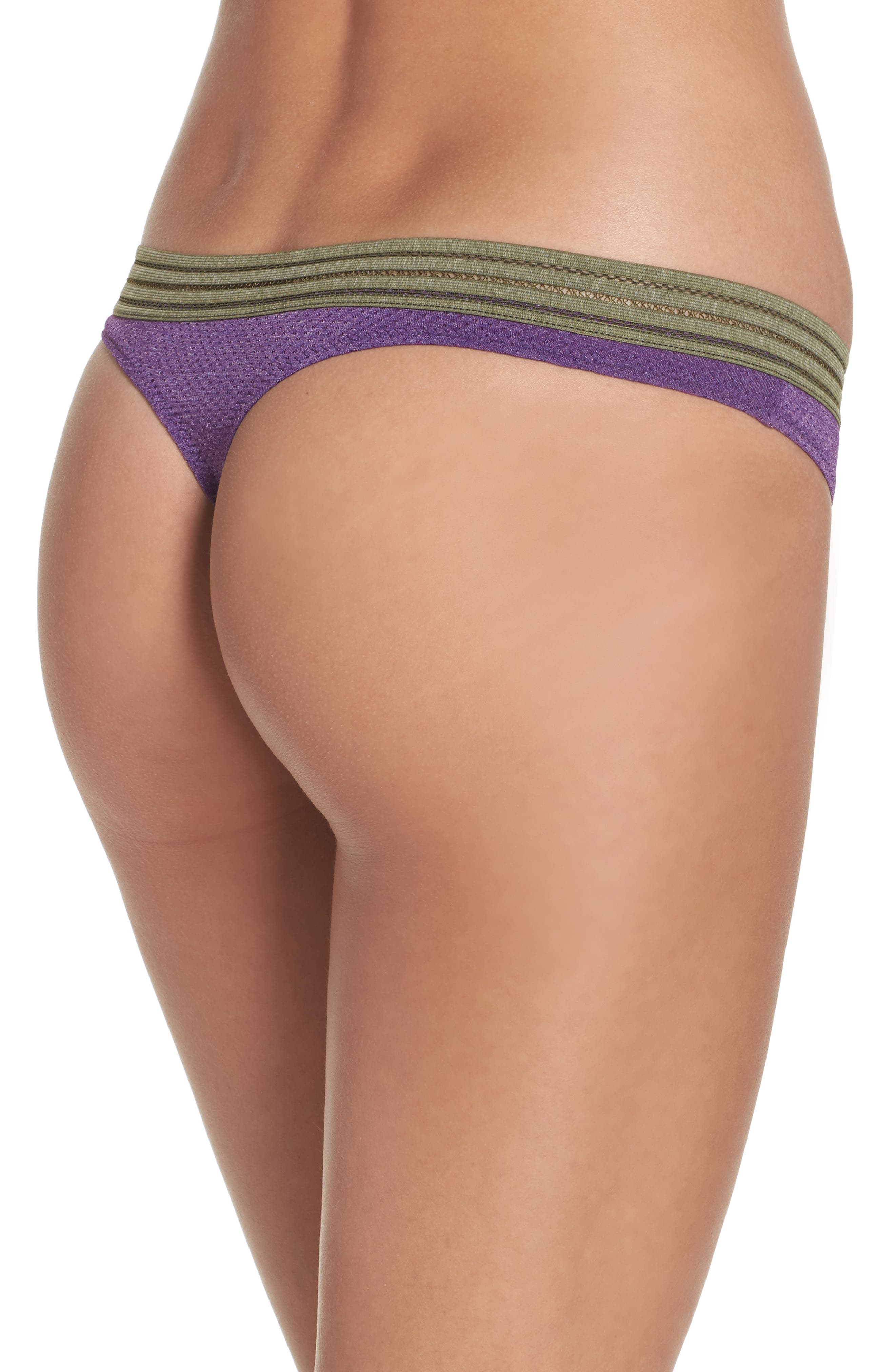Alternate Image 2  - b.tempt'd by Wacoal Active Thong (3 for $33)