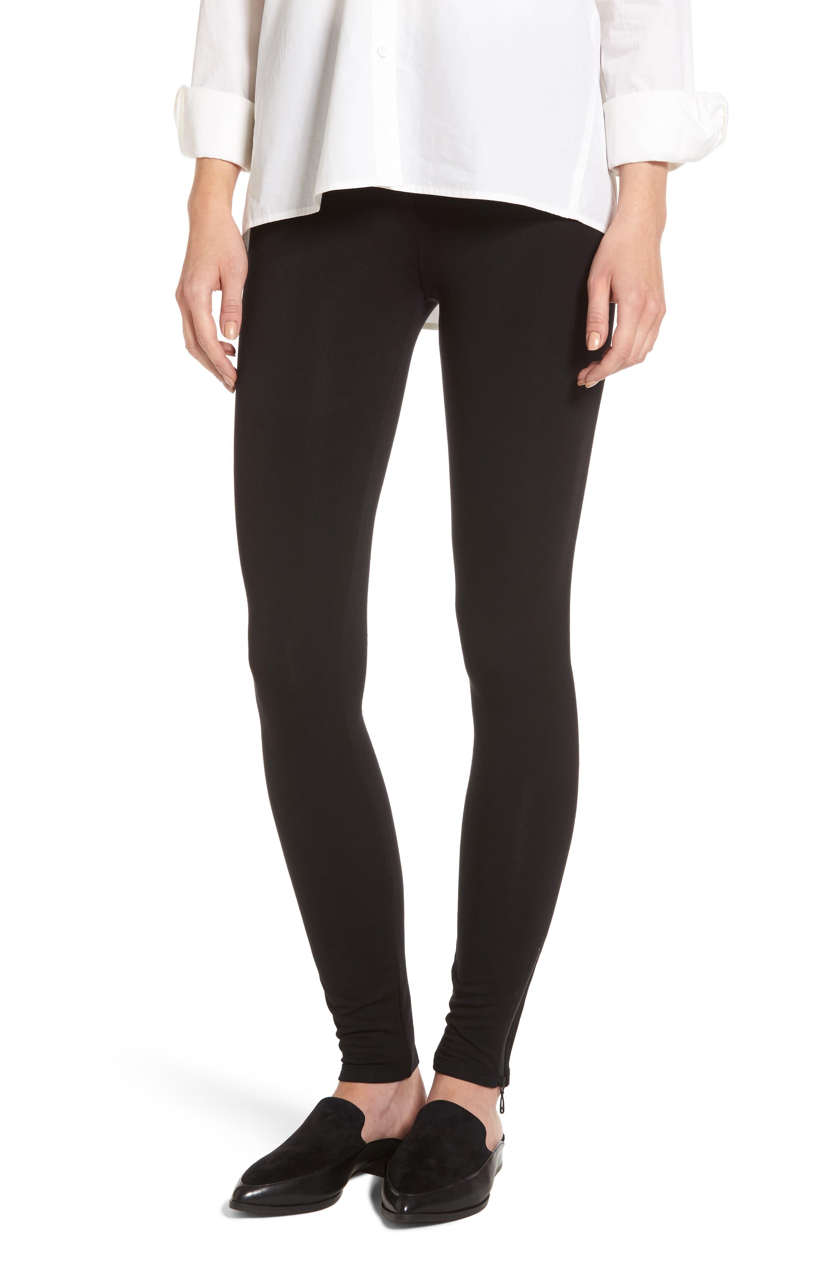 Alternate Image 1 Selected - NIC + ZOE Cozy Zipper Leggings