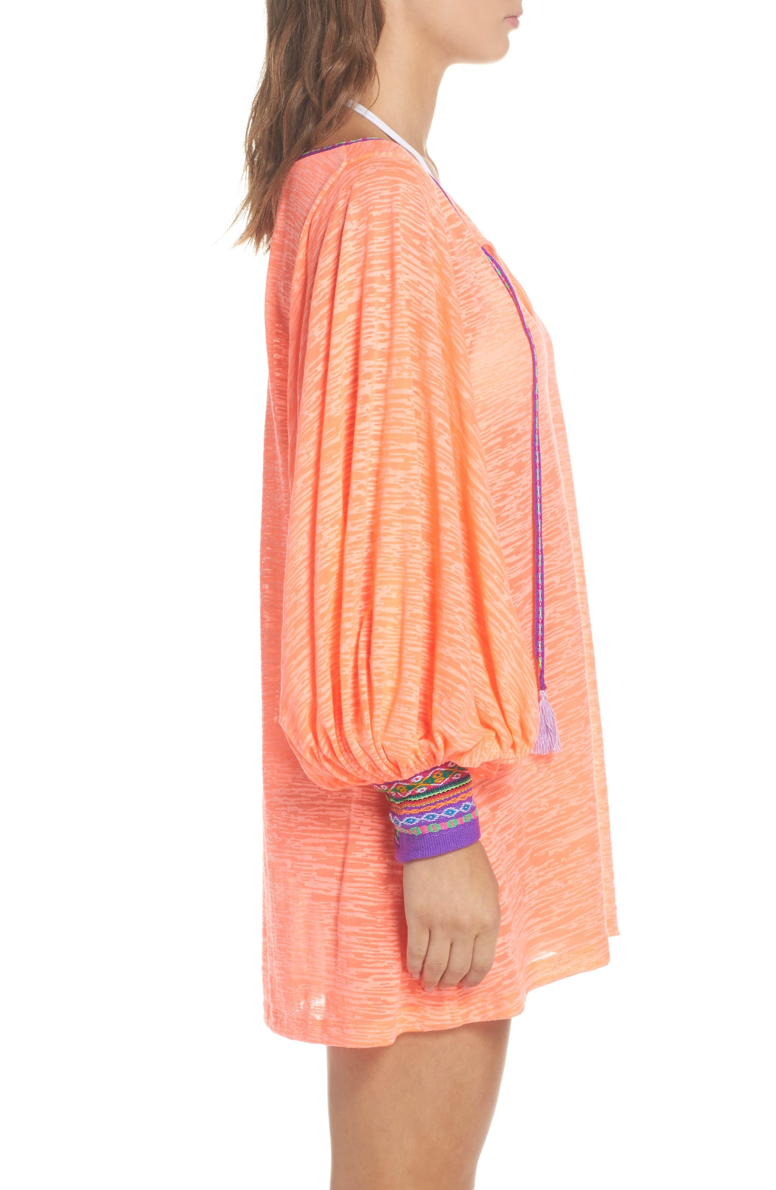 Alternate Image 3  - PITUSA Inca Cover-Up Dress