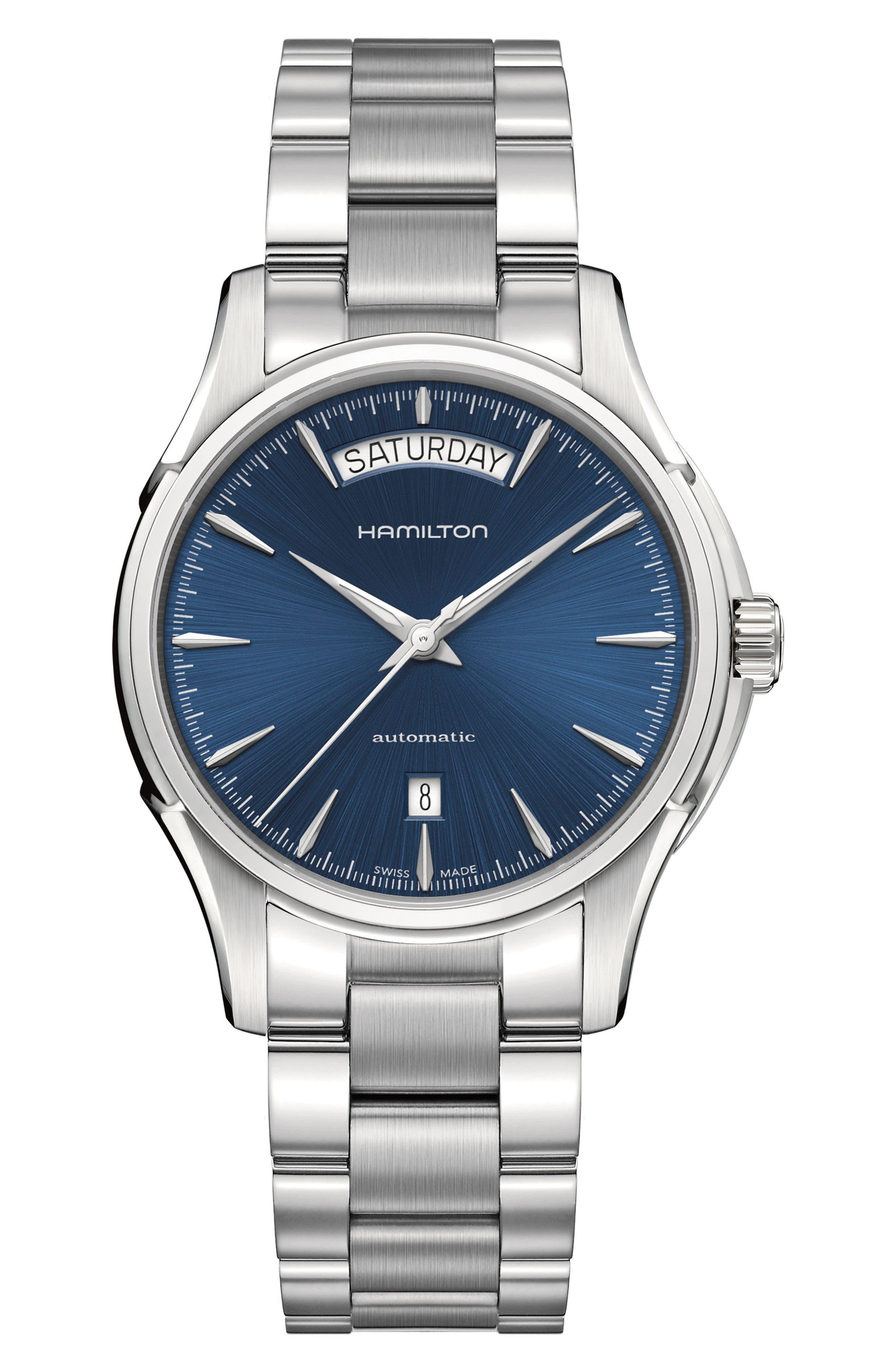 Main Image - Hamilton Jazzmaster Automatic Bracelet Watch, 40mm