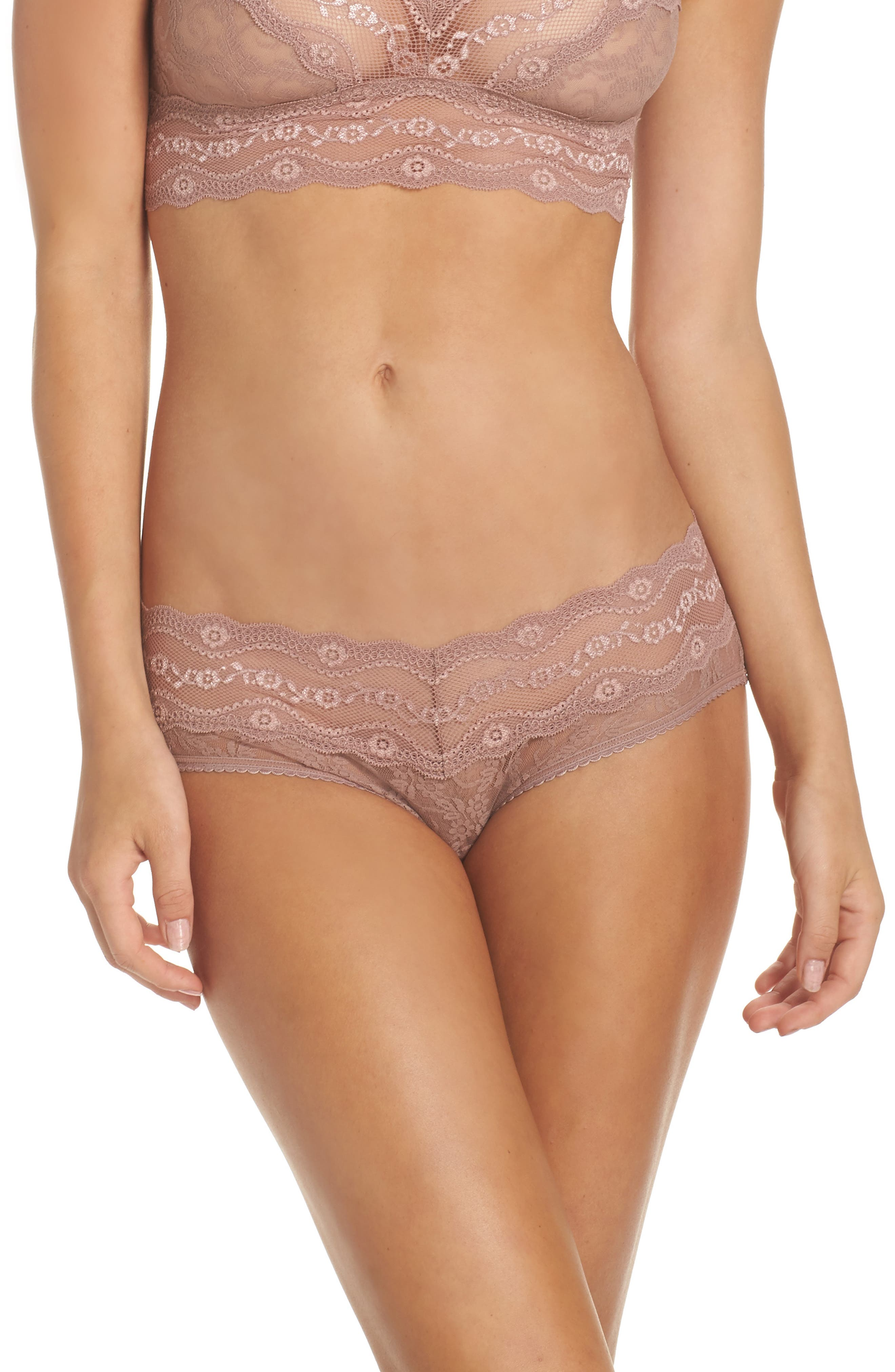 b.tempt'd by Wacoal 'Lace Kiss' Hipster Briefs (3 for $33)