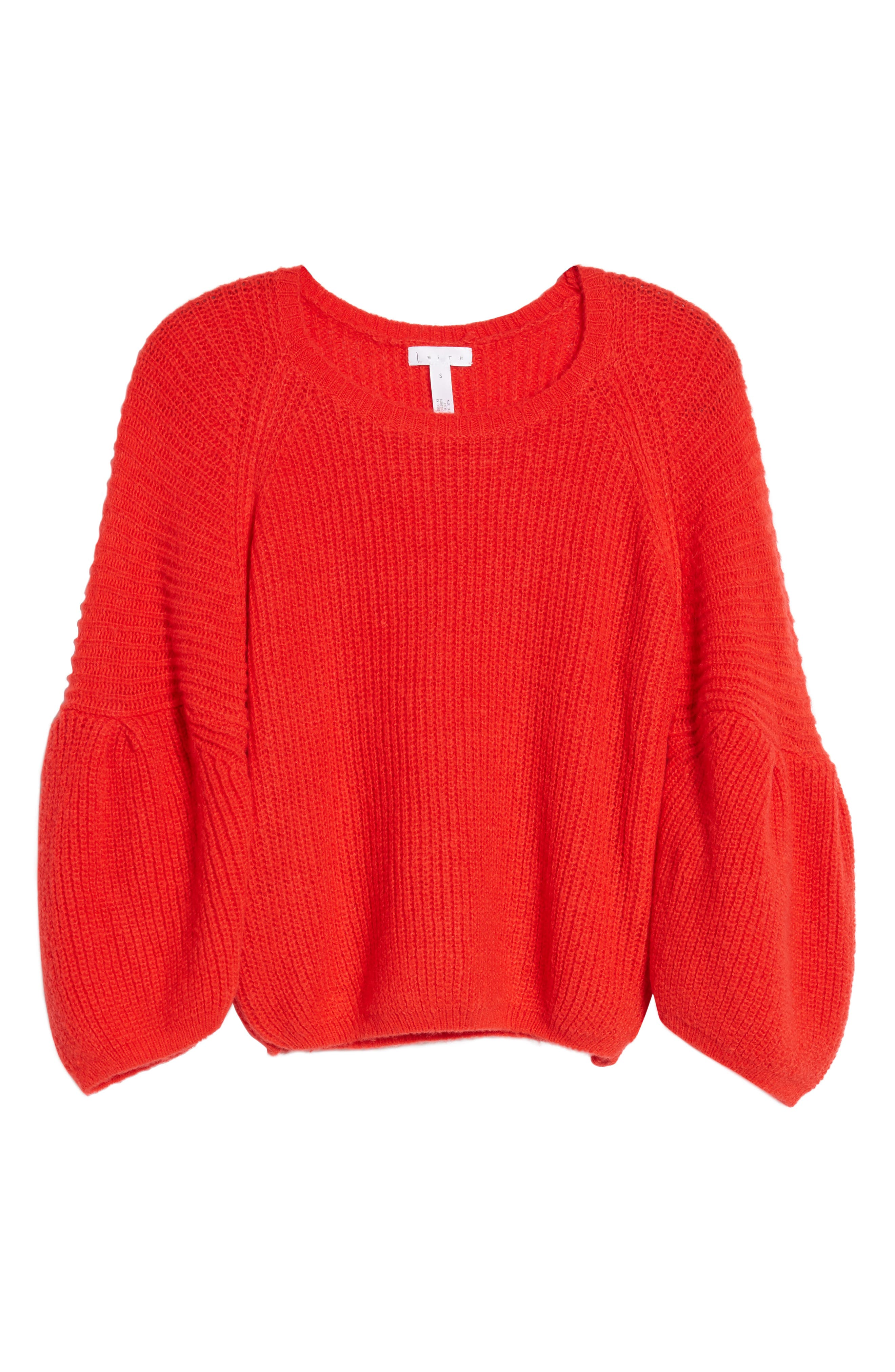 Alternate Image 6  - Leith Bubble Sleeve Sweater