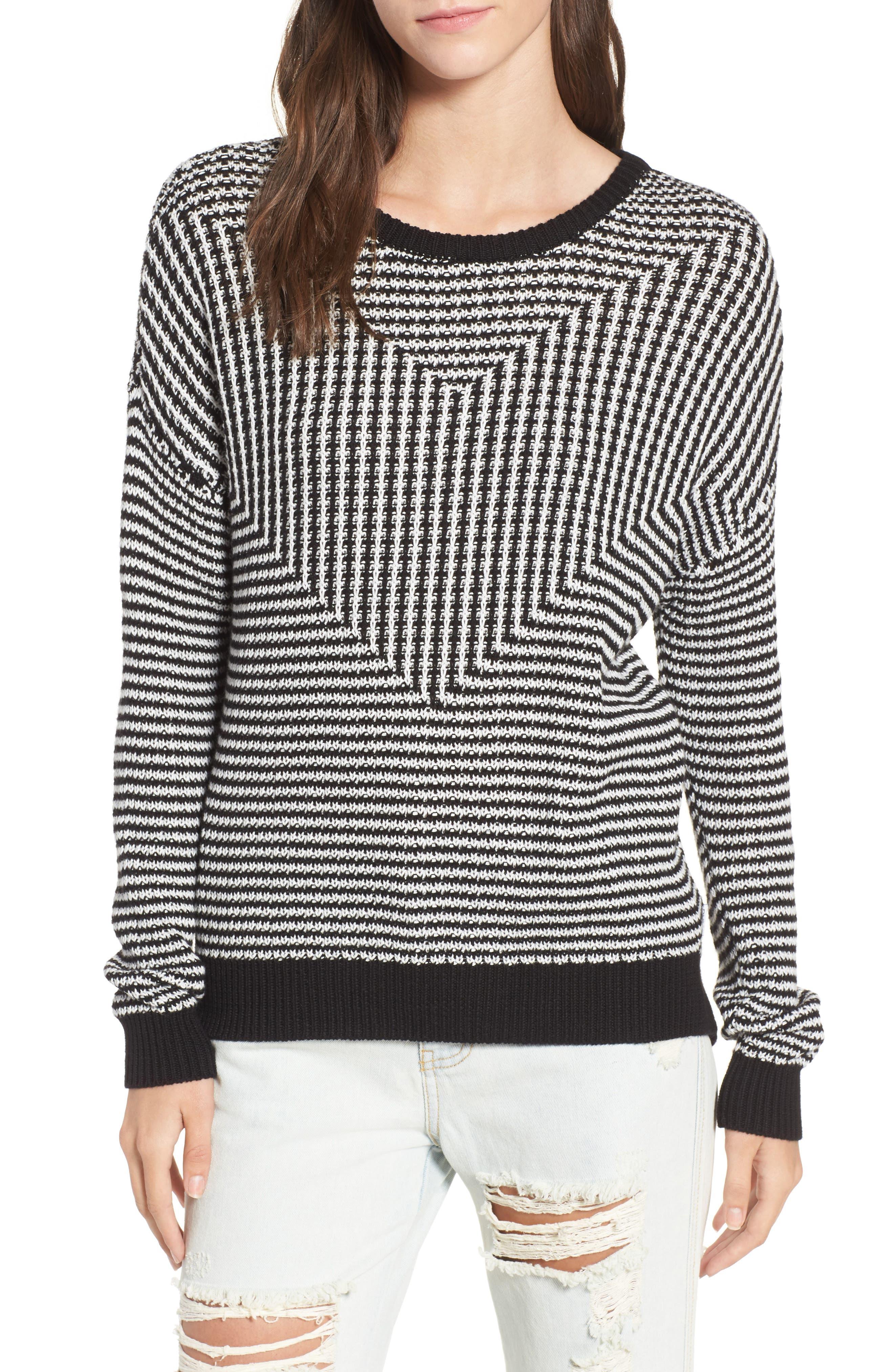 RVCA Light Up Stripe Sweater