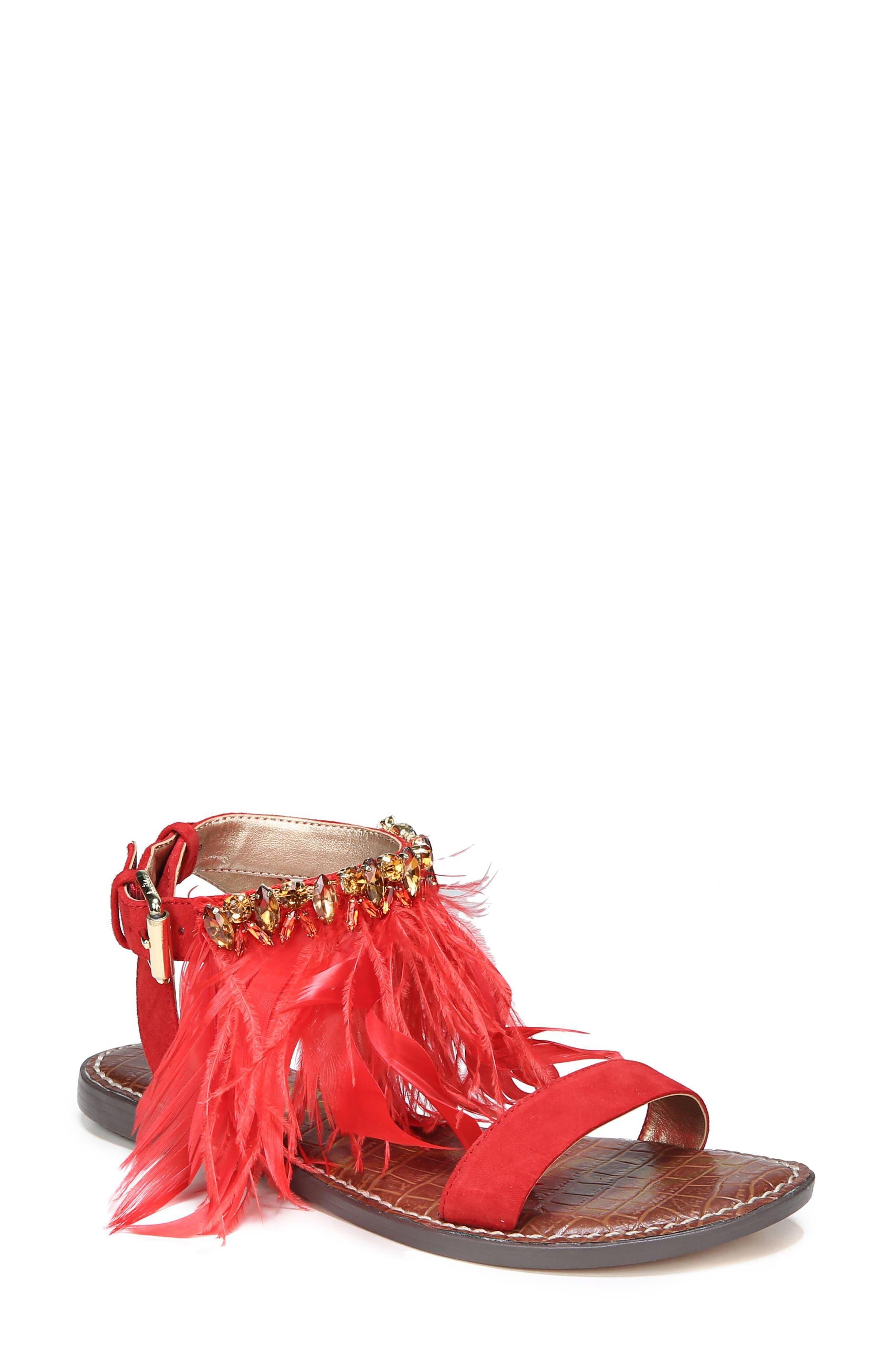 Sam Edelman Genevia Feather Sandal (Women)