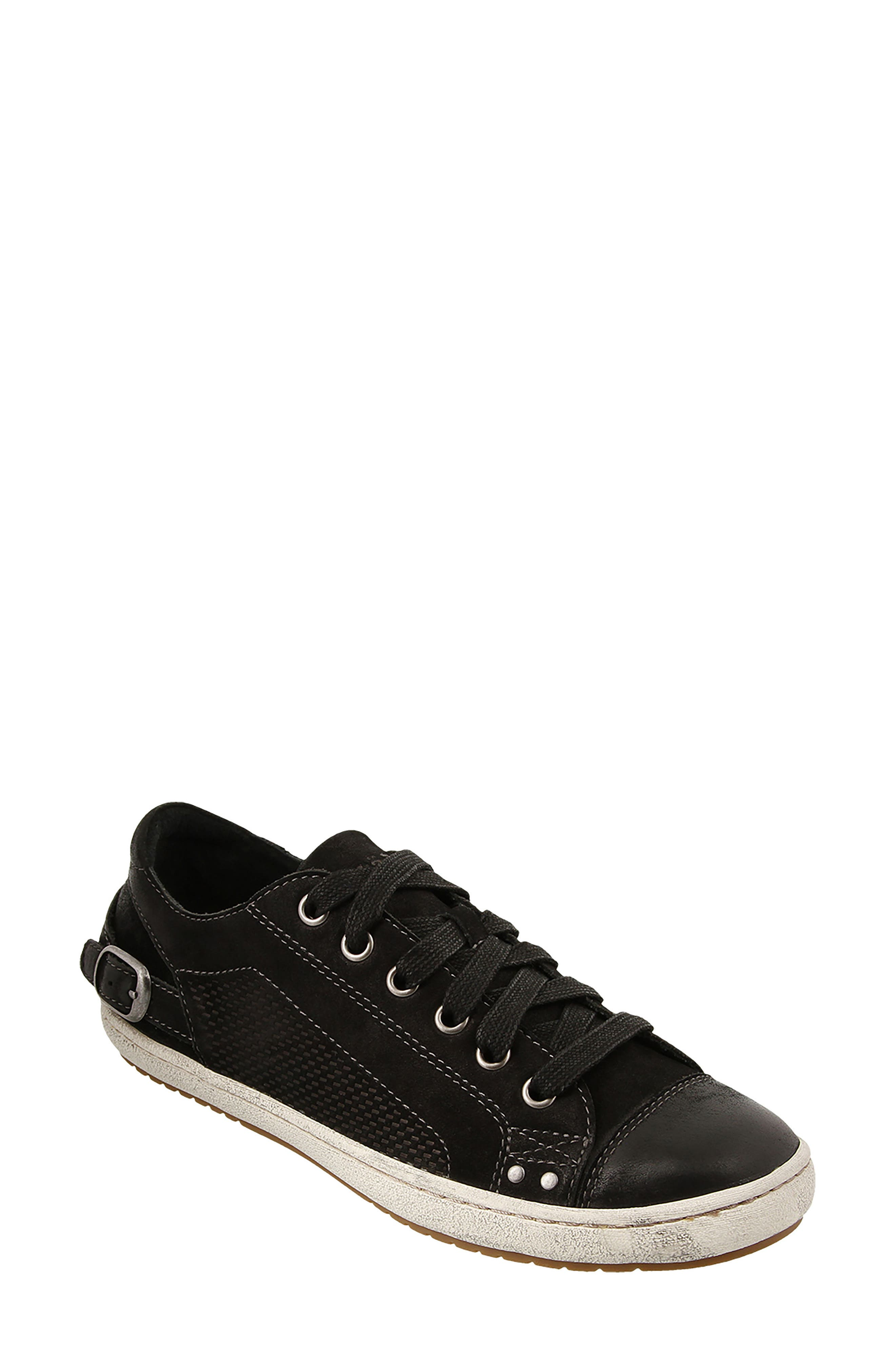 Capitol Sneaker,                         Main,                         color, Black Leather