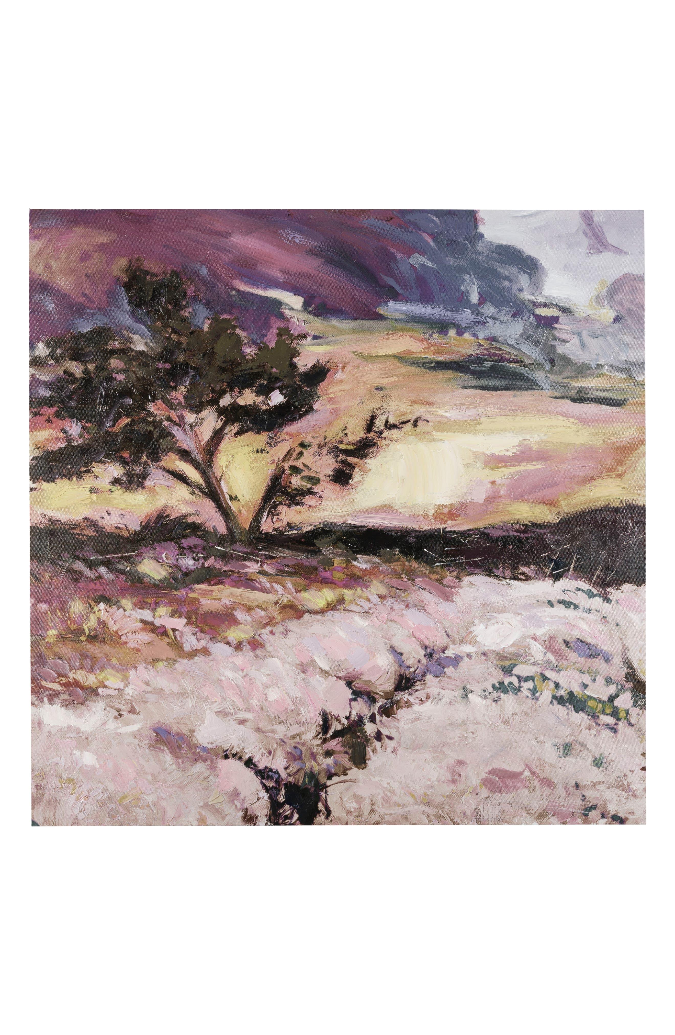 Campini Canvas Wall Art,                         Main,                         color, Pink/ Multi