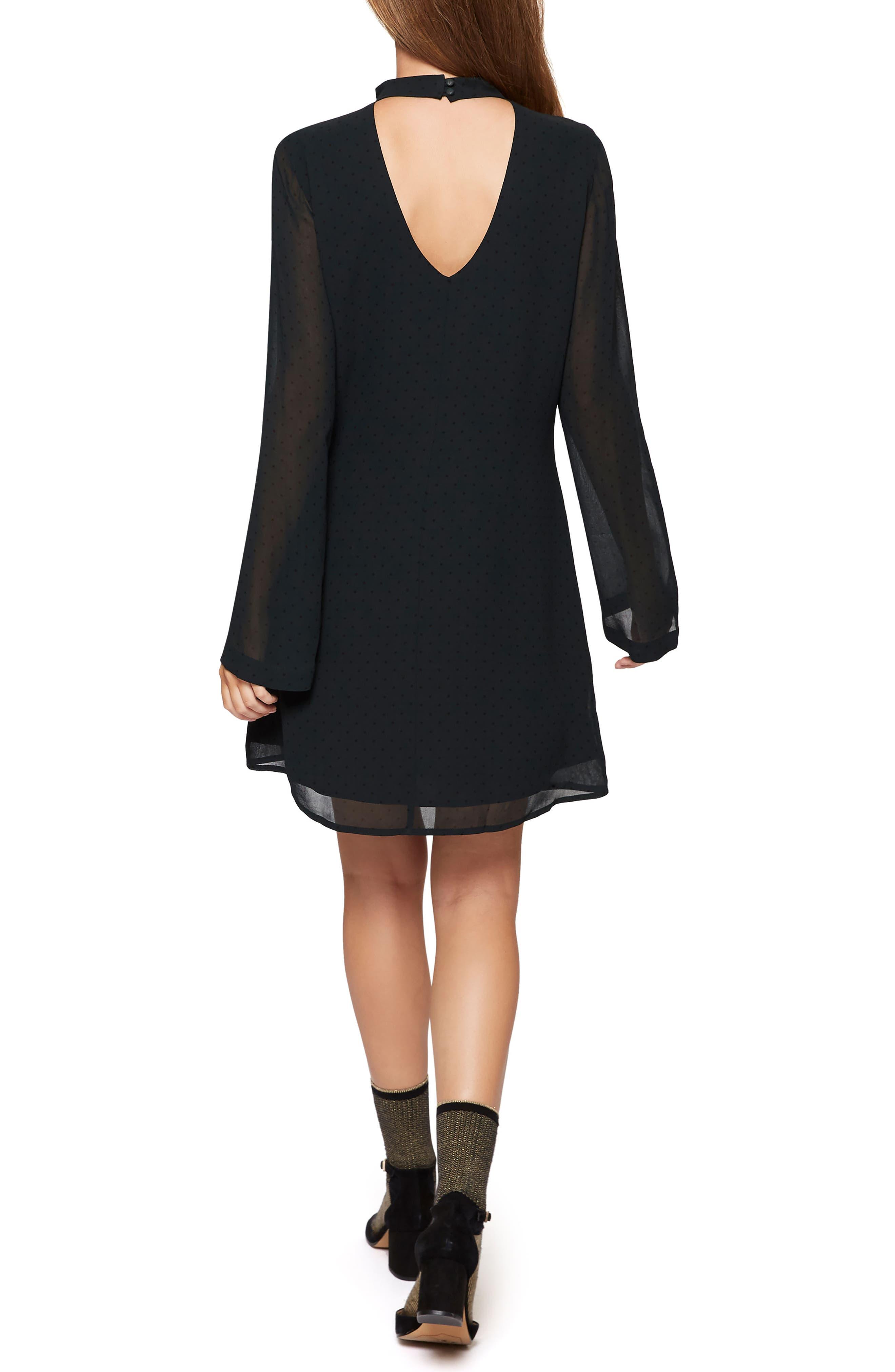 Alternate Image 3  - Sanctuary Choker Long Sleeve Shift Dress