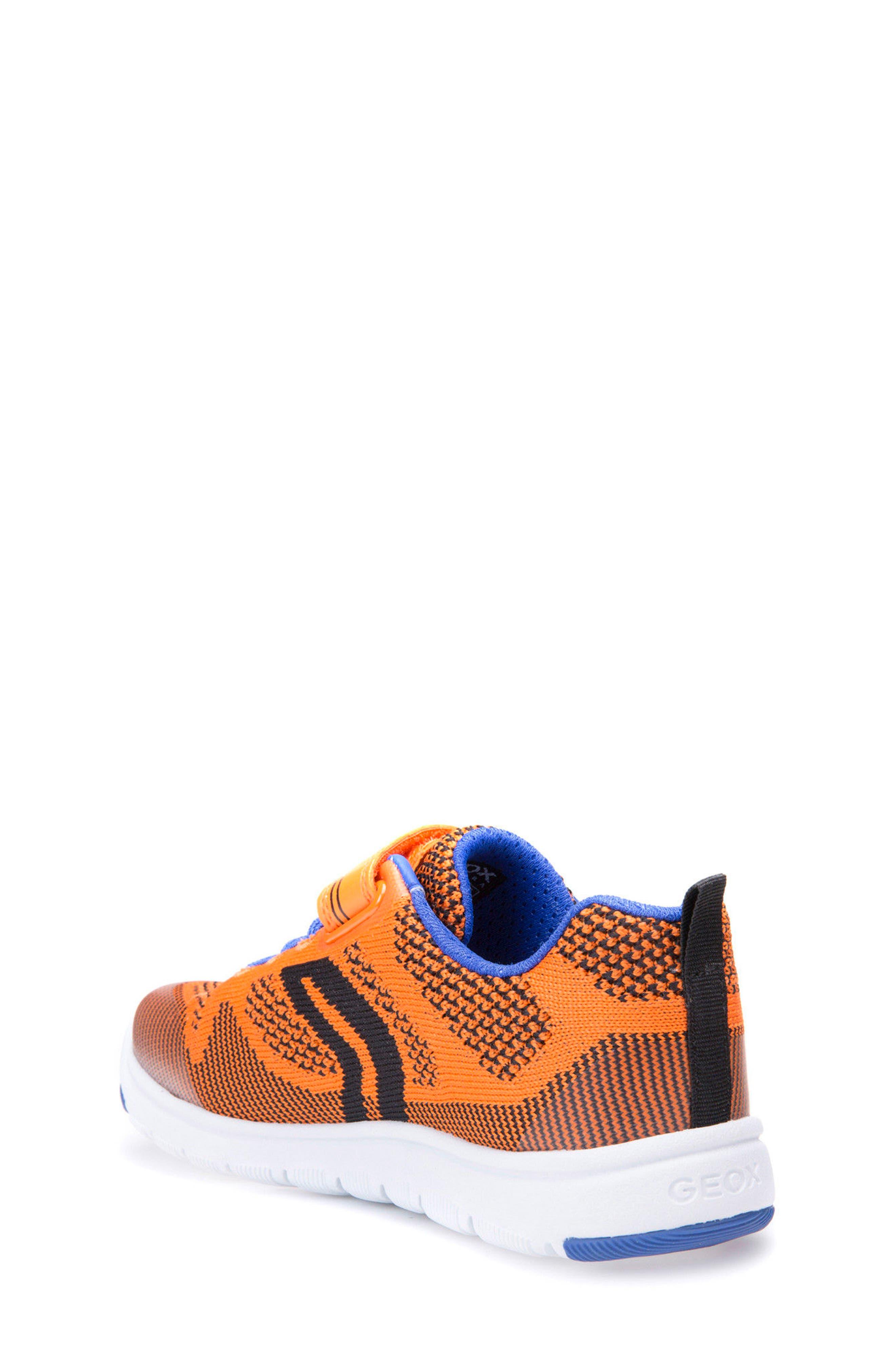 Xunday Low Top Woven Sneaker,                             Alternate thumbnail 2, color,                             Orange/ Royal