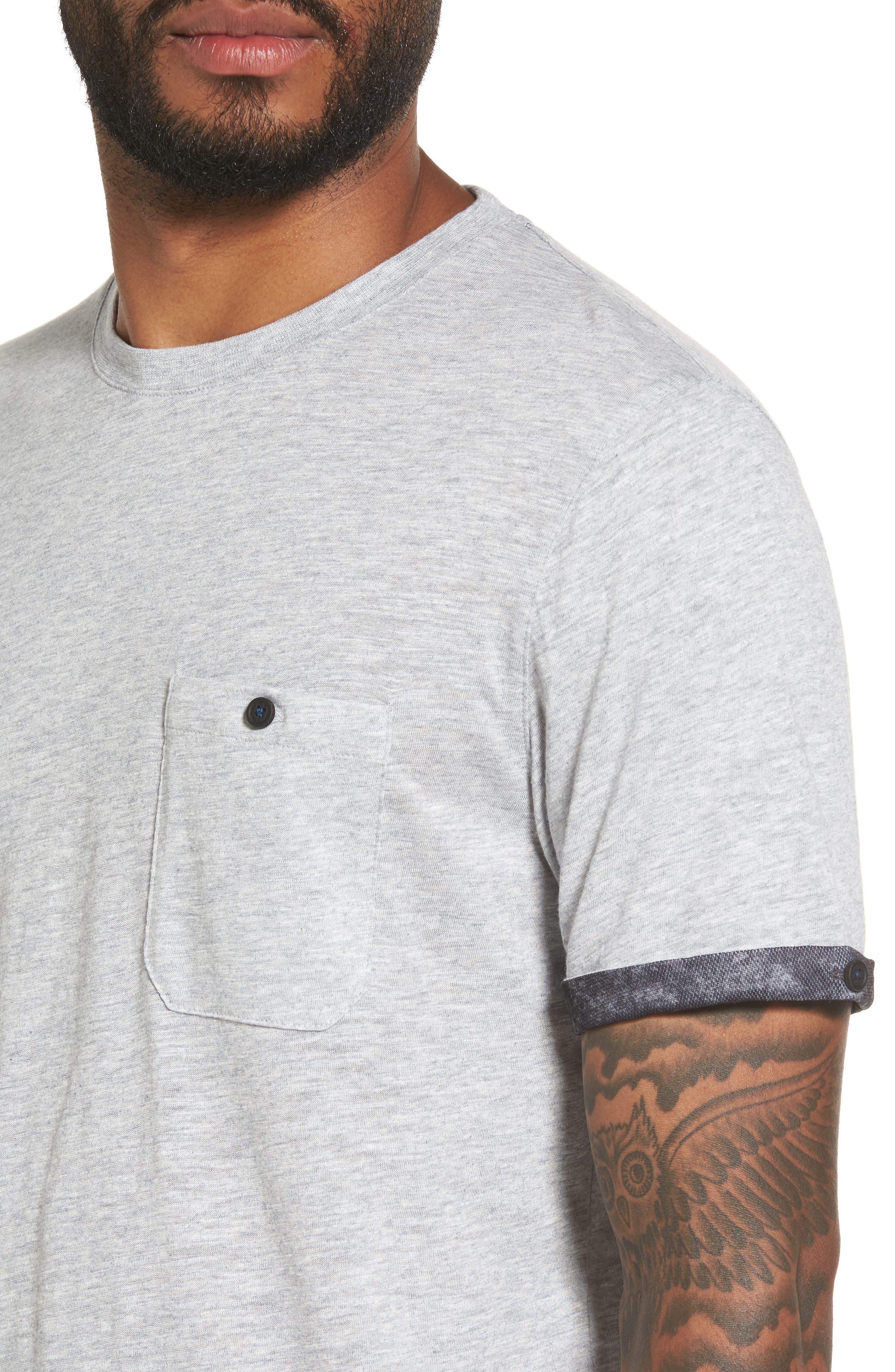 Alternate Image 4  - Ted Baker London Samsal Pocket T-Shirt