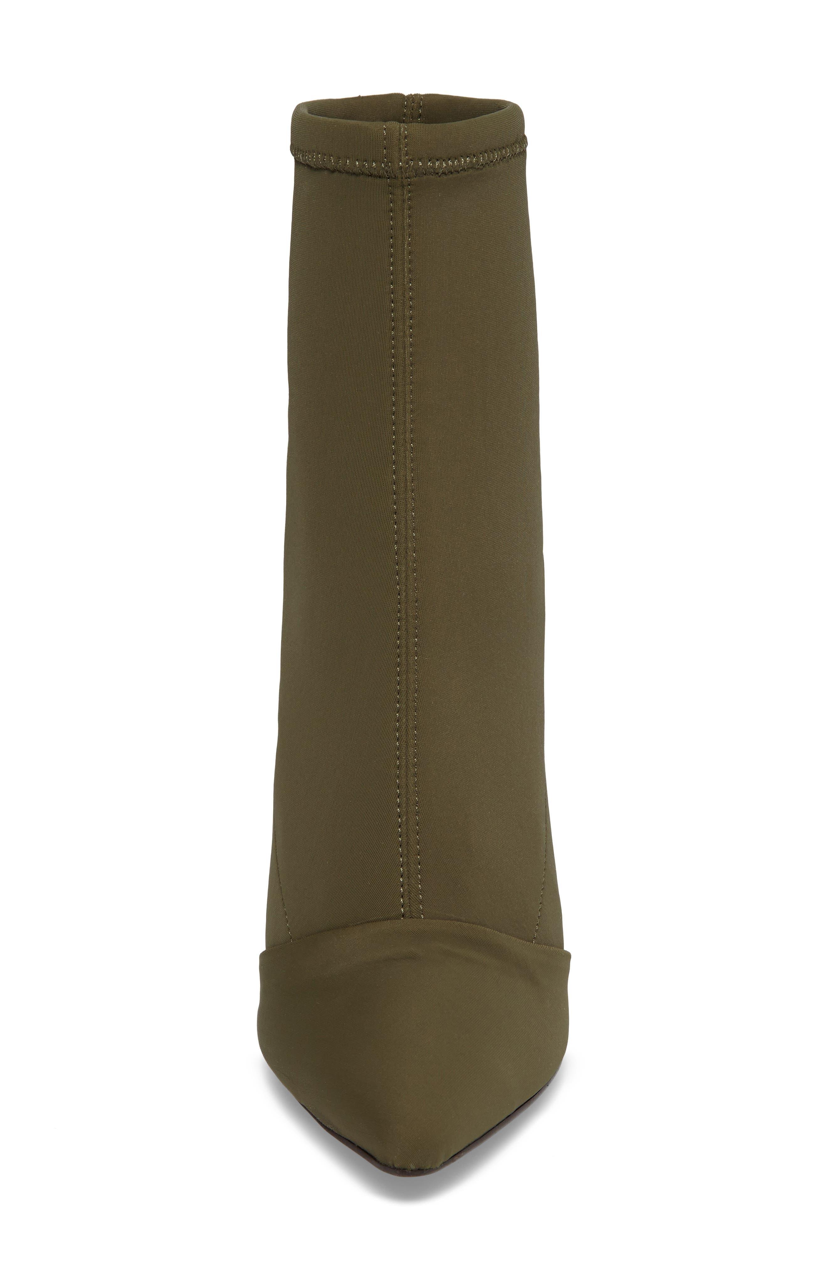 Alternate Image 4  - Topshop Hubba Pointy Toe Bootie (Women)