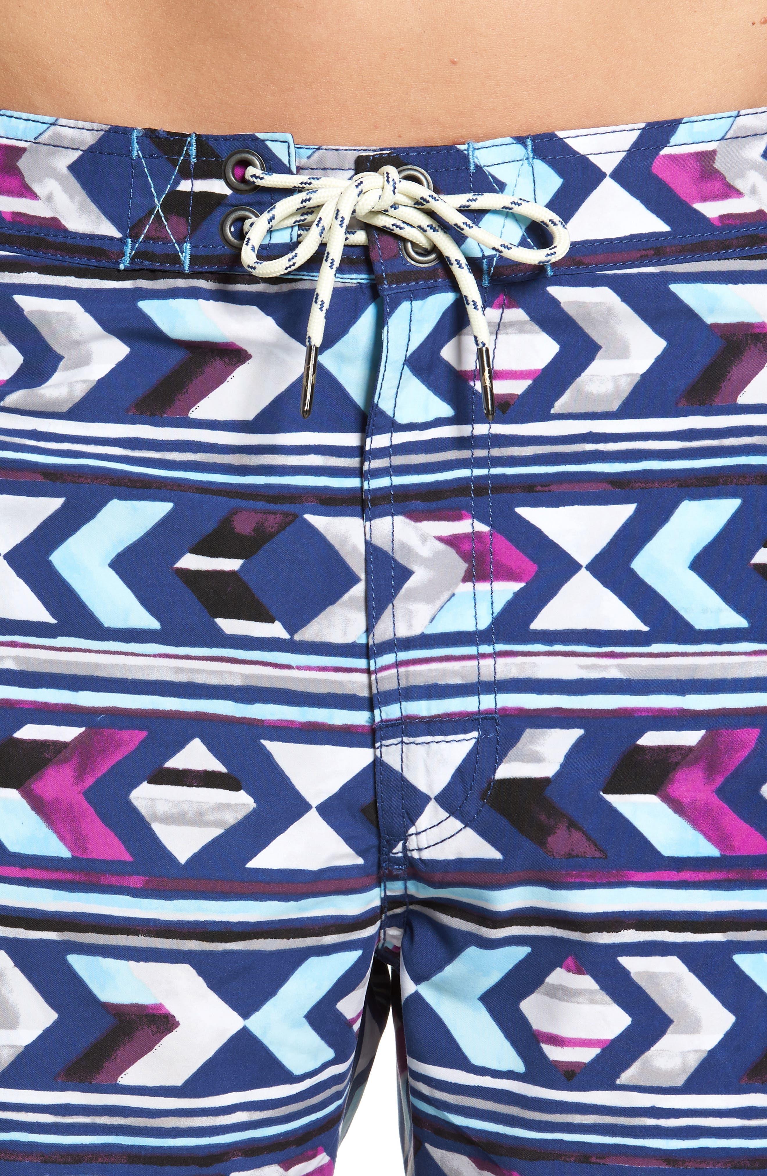 Alternate Image 4  - Tommy Bahama Baja Aloha Arrow Board Shorts