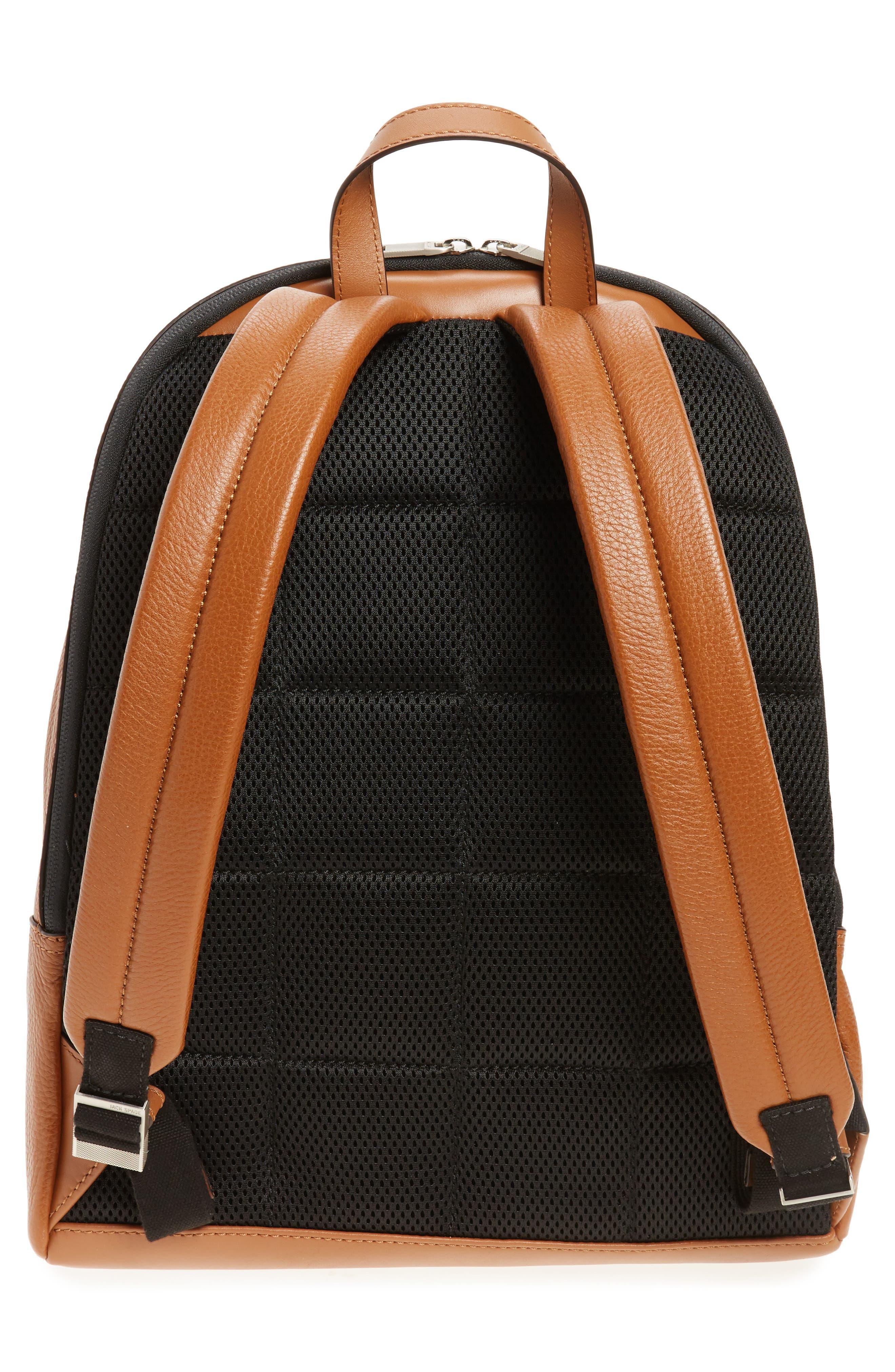 Alternate Image 3  - Jack Spade Pebbled Leather Backpack