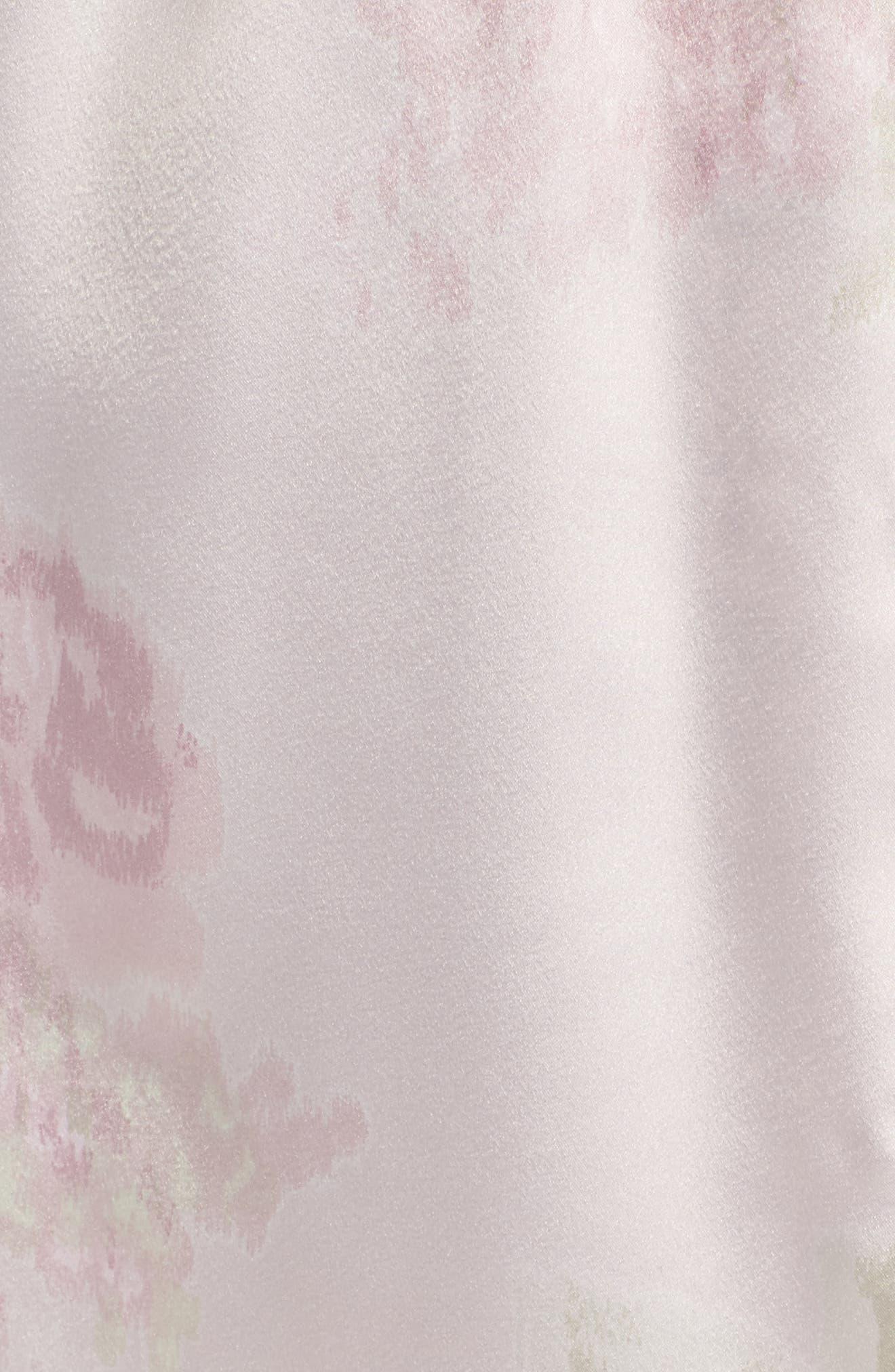 Alternate Image 6  - Lauren Ralph Lauren Lace & Satin Robe