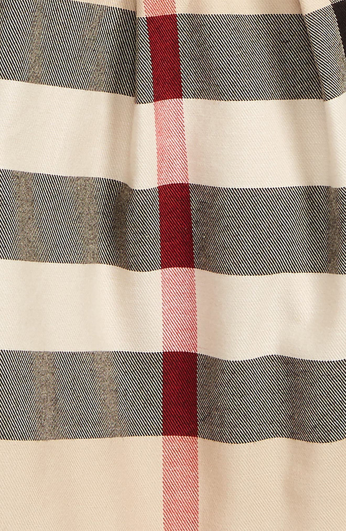 Alternate Image 2  - Burberry Sofia Plaid Pinafore Skirt (Toddler Girls)