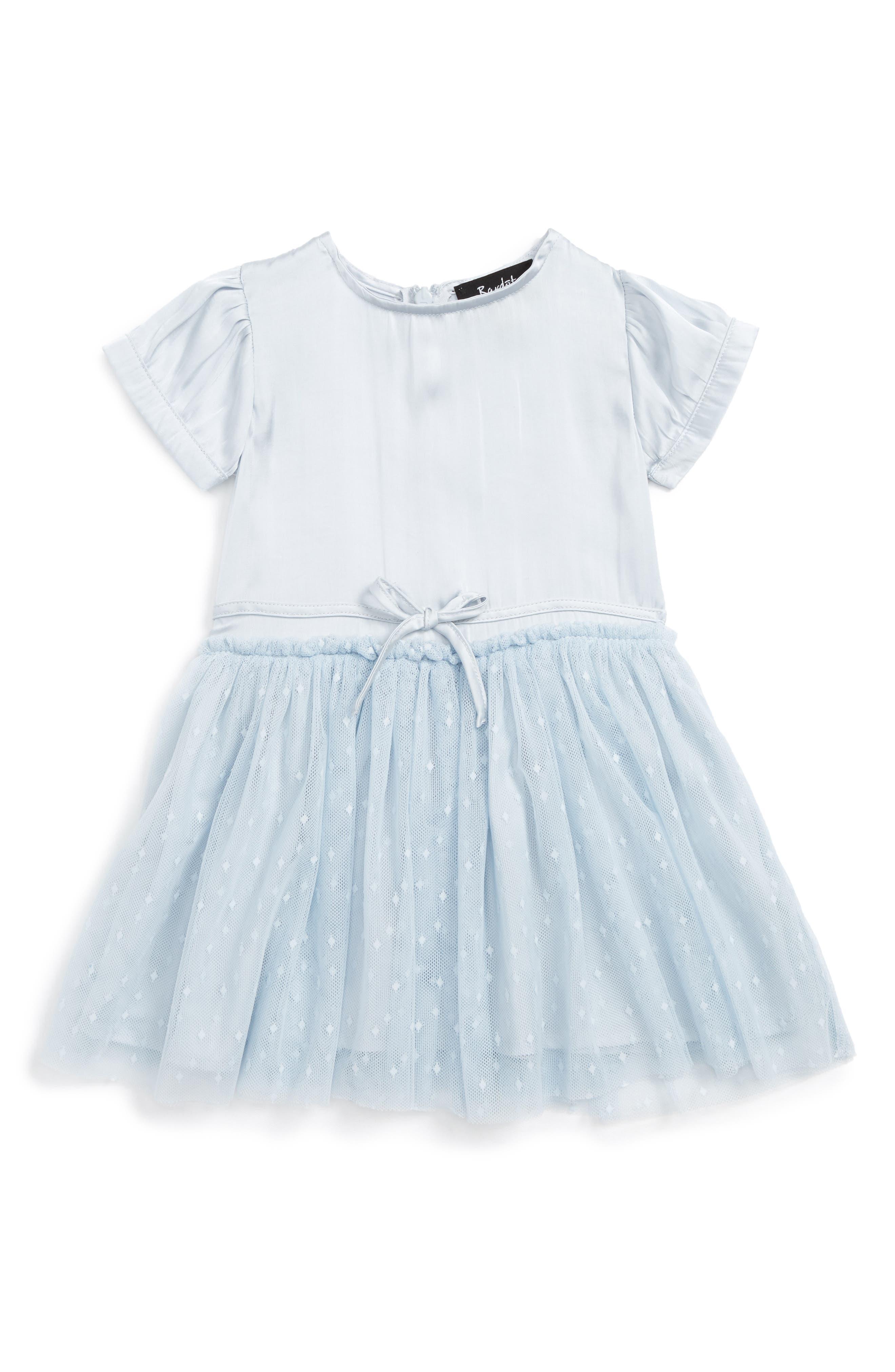 Main Image - Bardot Junior Silky Dress (Baby Girls & Toddler Girls)