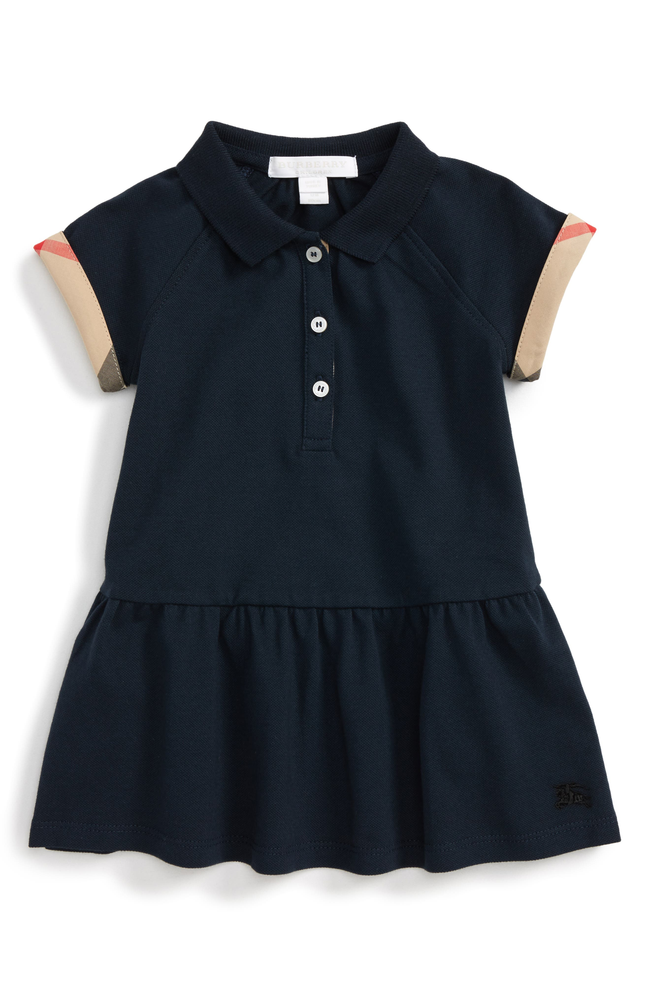 Burberry 'Mini Cali' Polo Dress (Baby Girls)