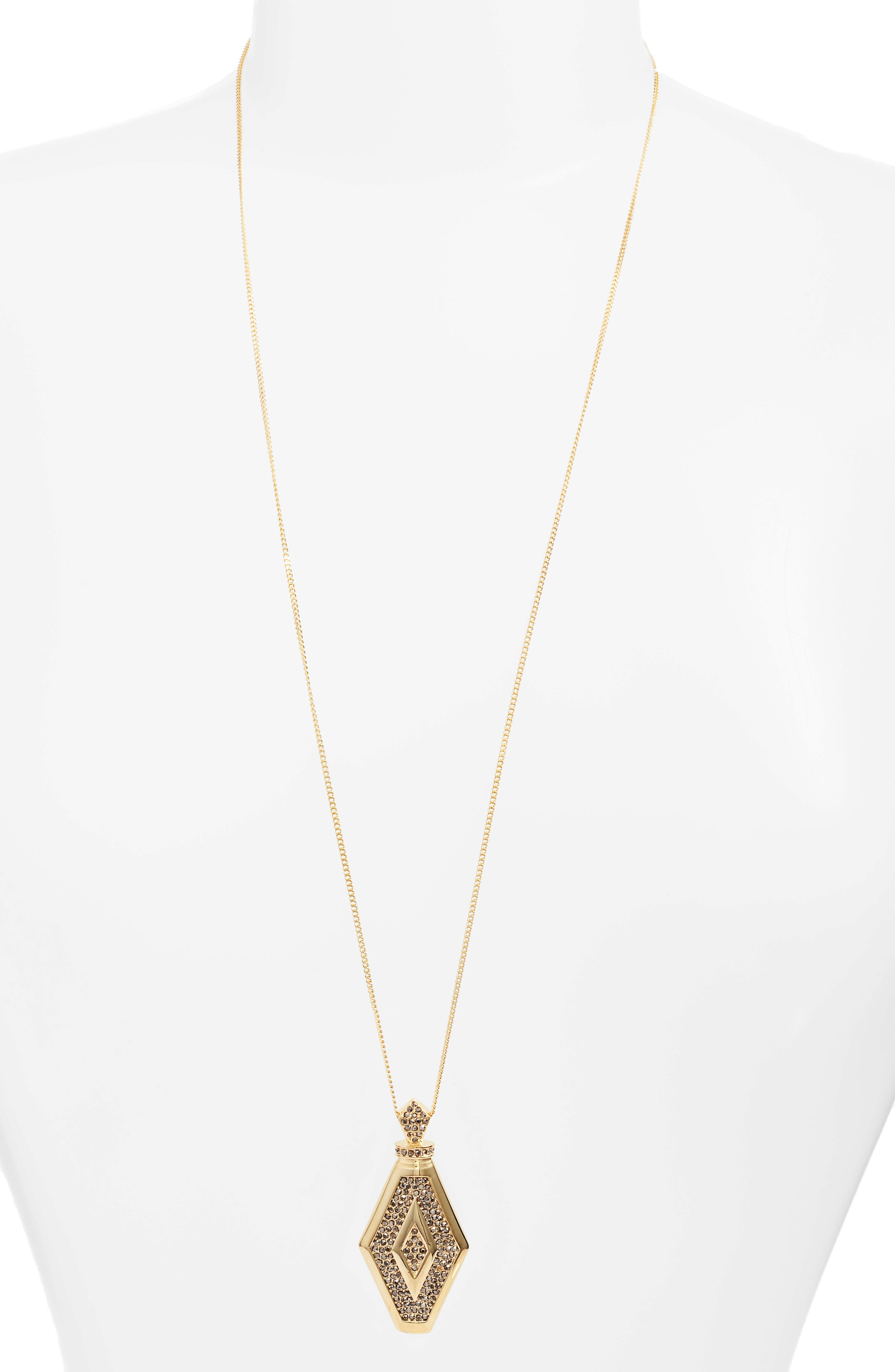 Alternate Image 1 Selected - Vince Camuto Pavé Crystal Pendant Necklace