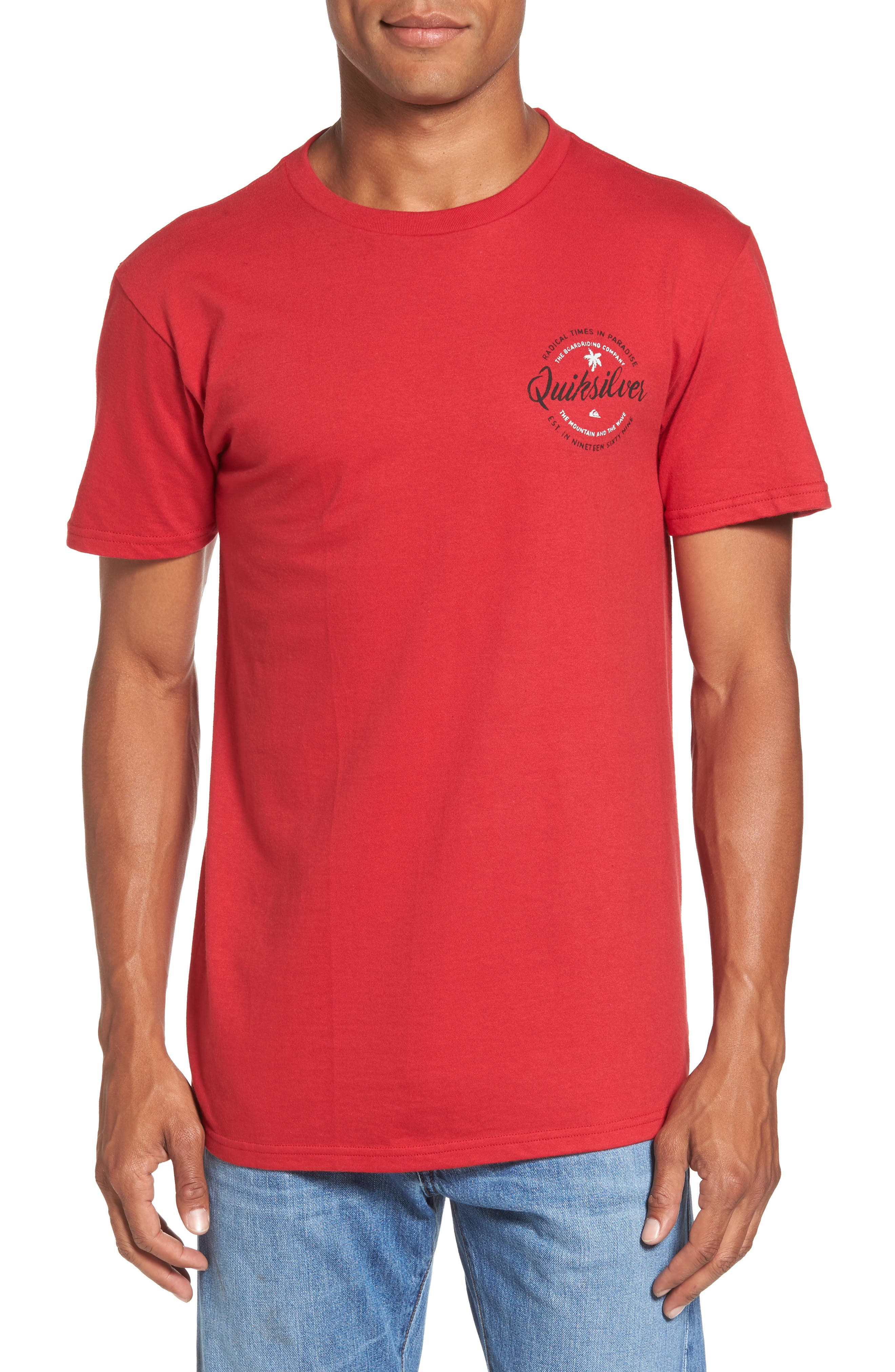 Alternate Image 1 Selected - Quiksilver Holding Dreams MT0 T-Shirt